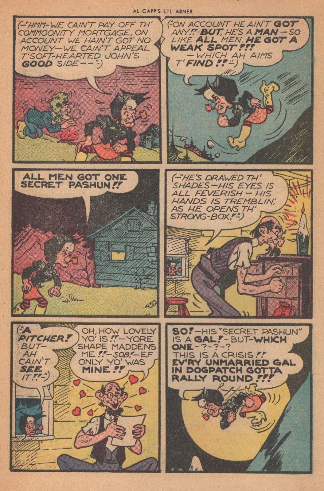 Li'l Abner Comics issue 77 - Page 4