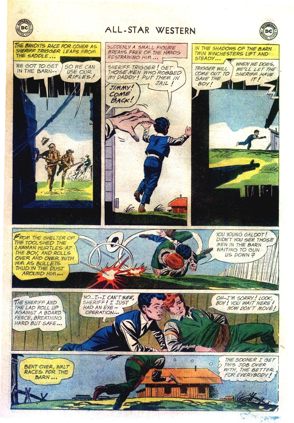 Read online All-Star Western (1951) comic -  Issue #111 - 27