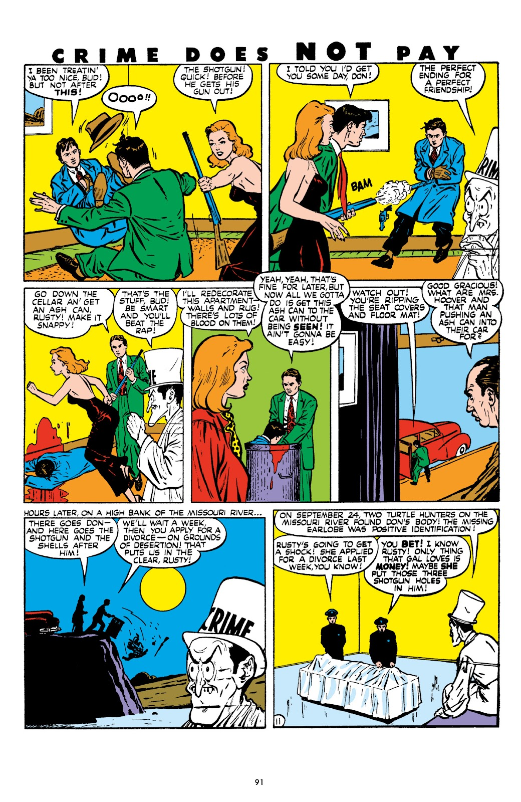 Read online Crime Does Not Pay Archives comic -  Issue # TPB 8 (Part 1) - 92