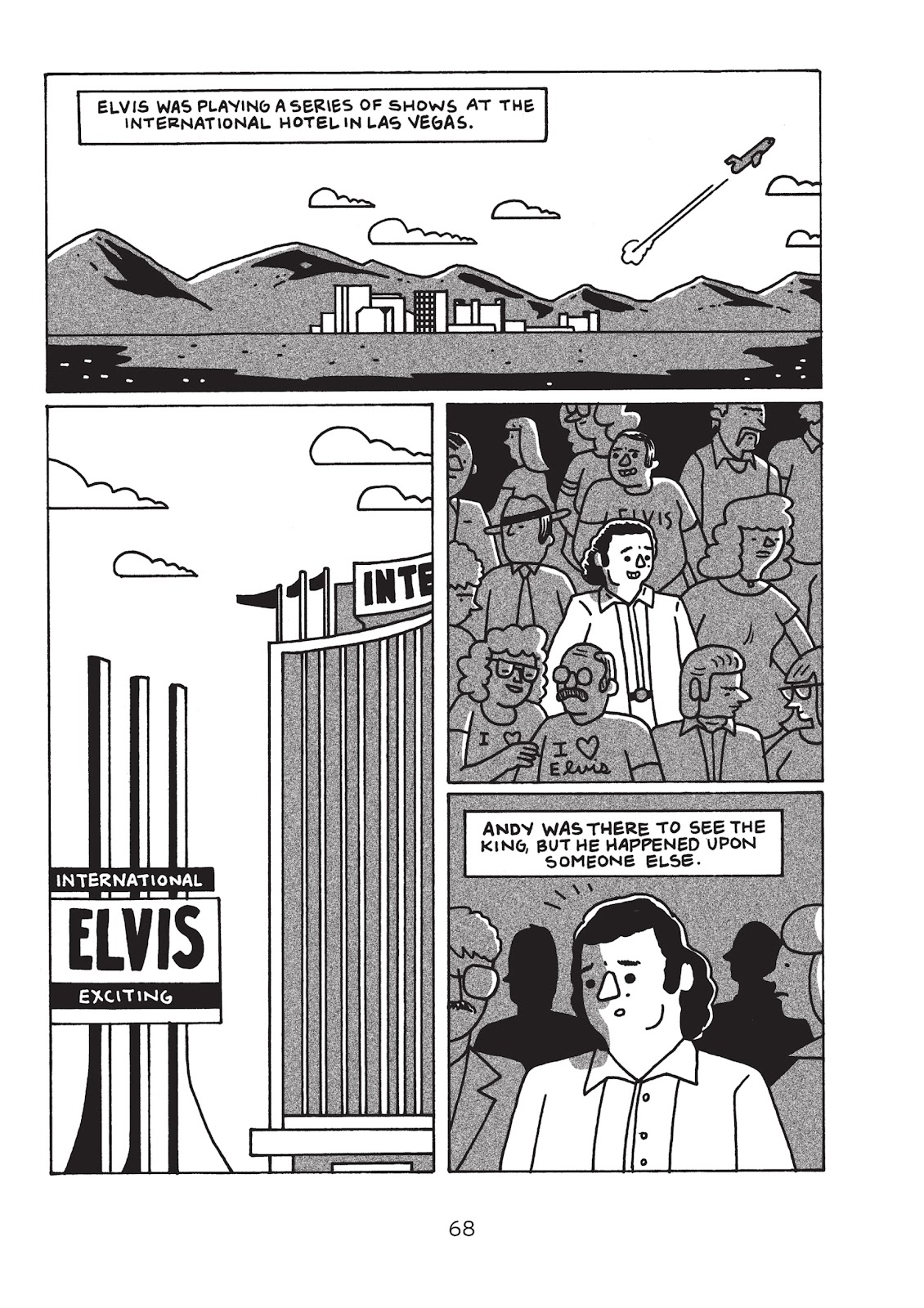 Read online Is This Guy For Real?: The Unbelievable Andy Kaufman comic -  Issue # TPB (Part 1) - 73