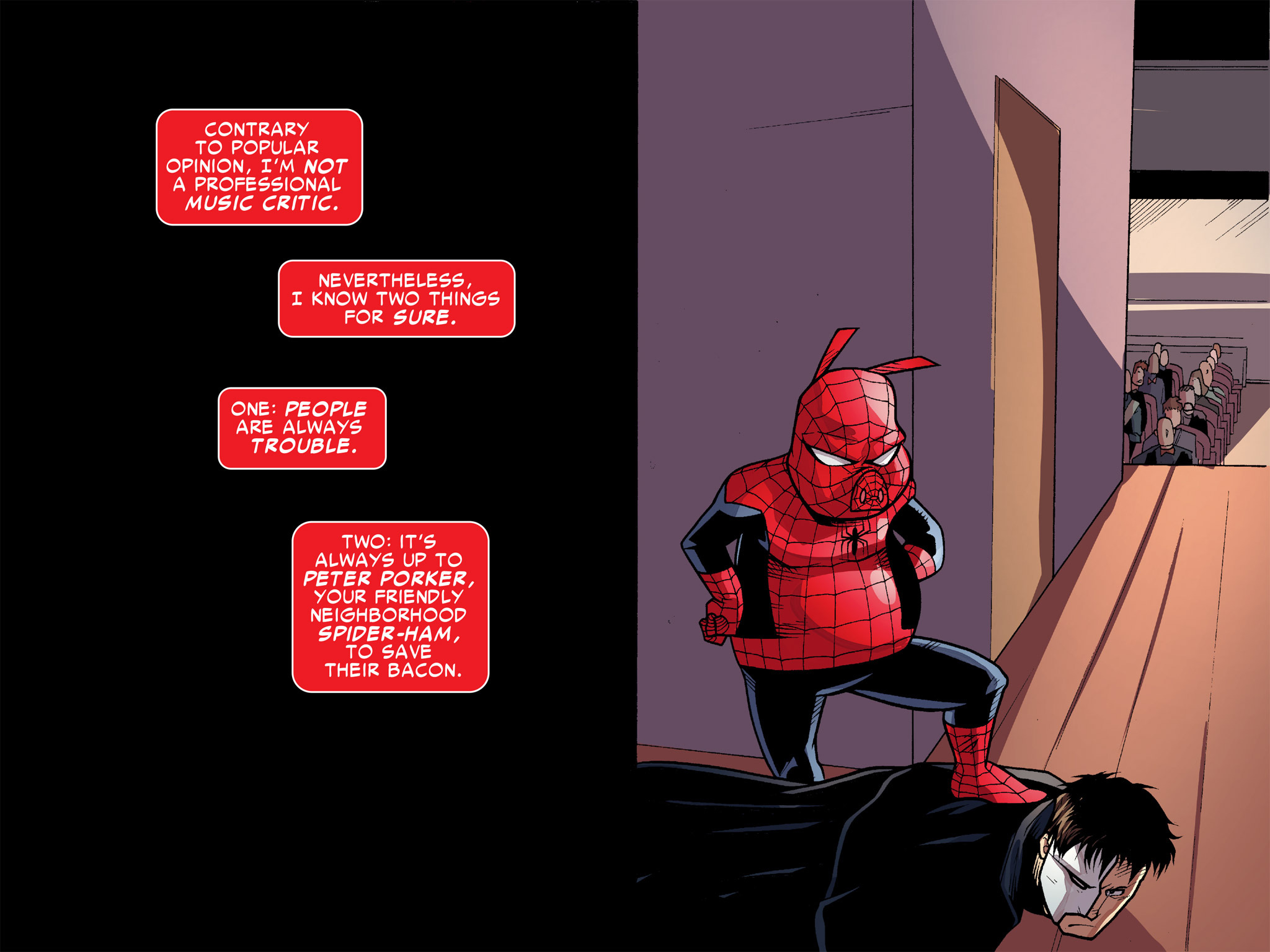 Read online Ultimate Spider-Man (Infinite Comics) (2016) comic -  Issue #9 - 10