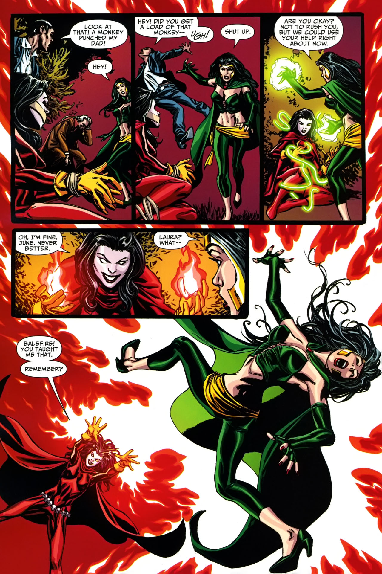 Read online Shadowpact comic -  Issue #19 - 14