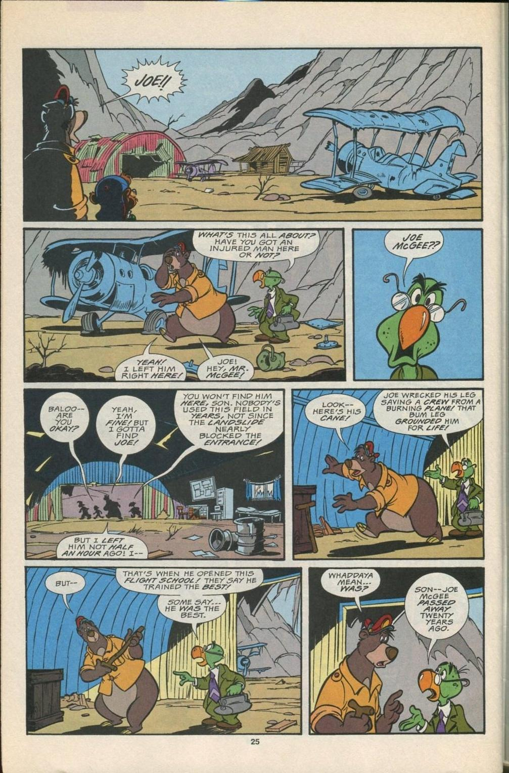 Read online Disney's Tale Spin comic -  Issue #5 - 26