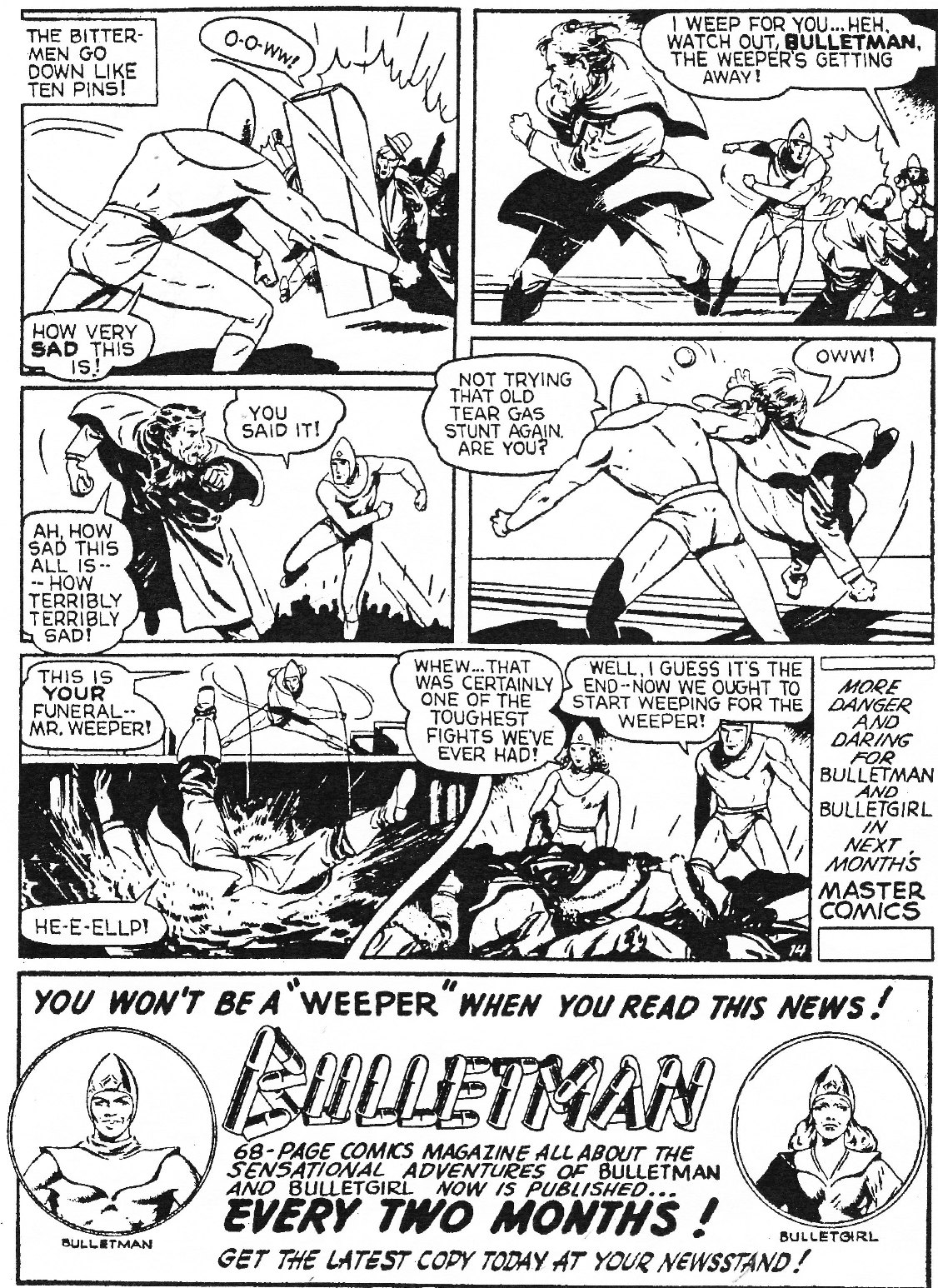 Read online Men of Mystery Comics comic -  Issue #74 - 16
