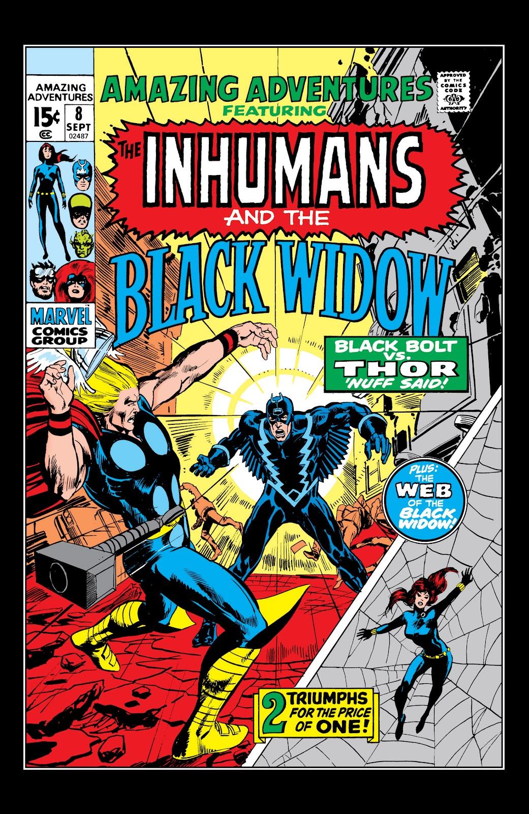 Read online Marvel Masterworks: The Inhumans comic -  Issue # TPB 1 (Part 2) - 46