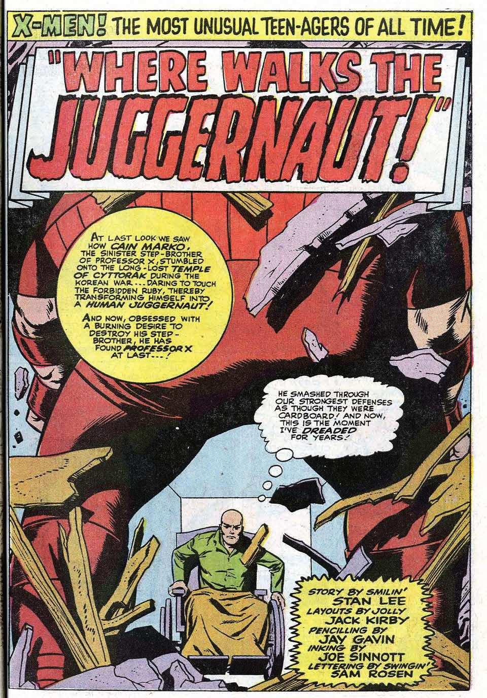Read online Uncanny X-Men (1963) comic -  Issue #67 - 27