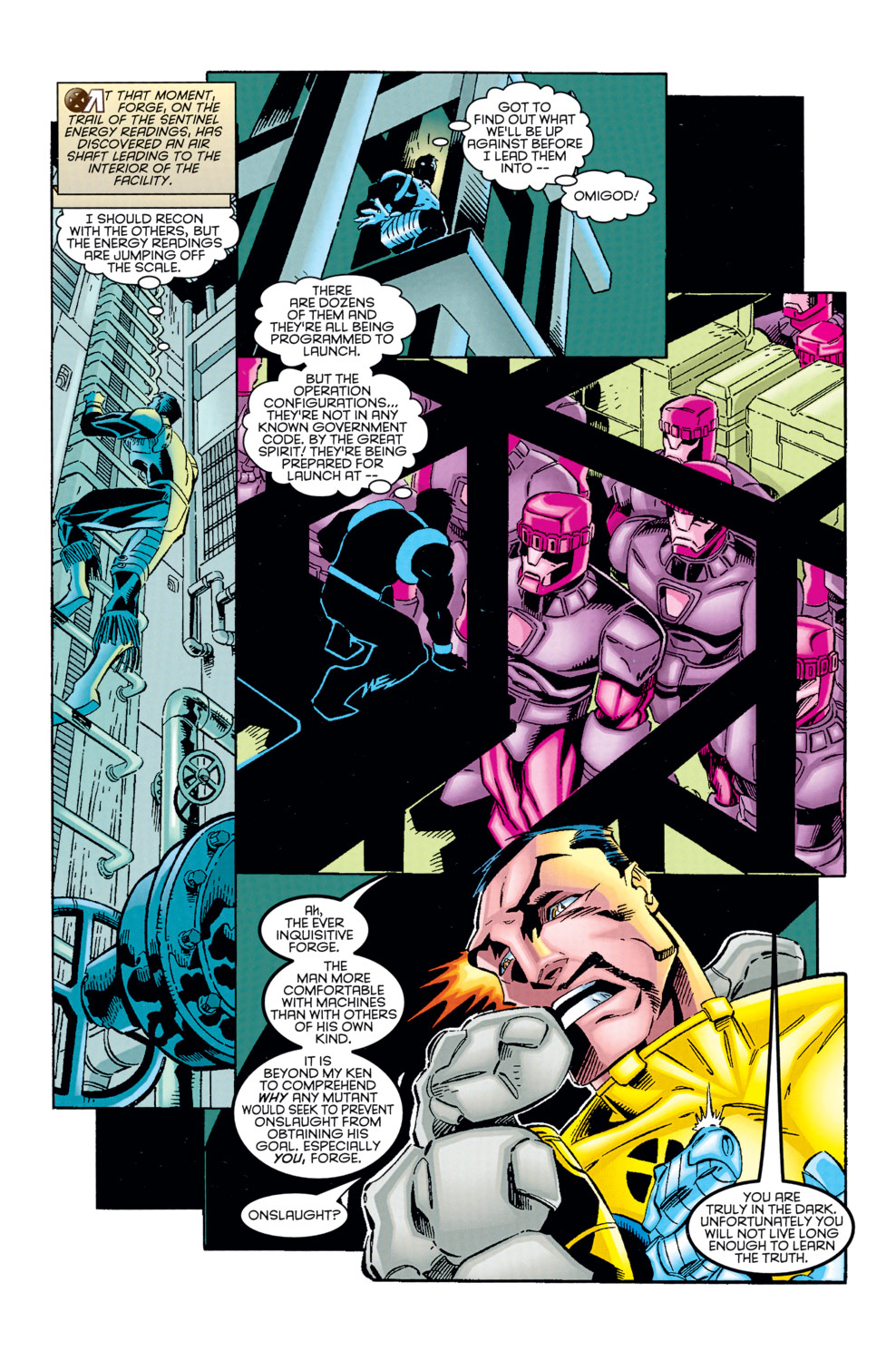 Read online X-Factor (1986) comic -  Issue #125 - 16