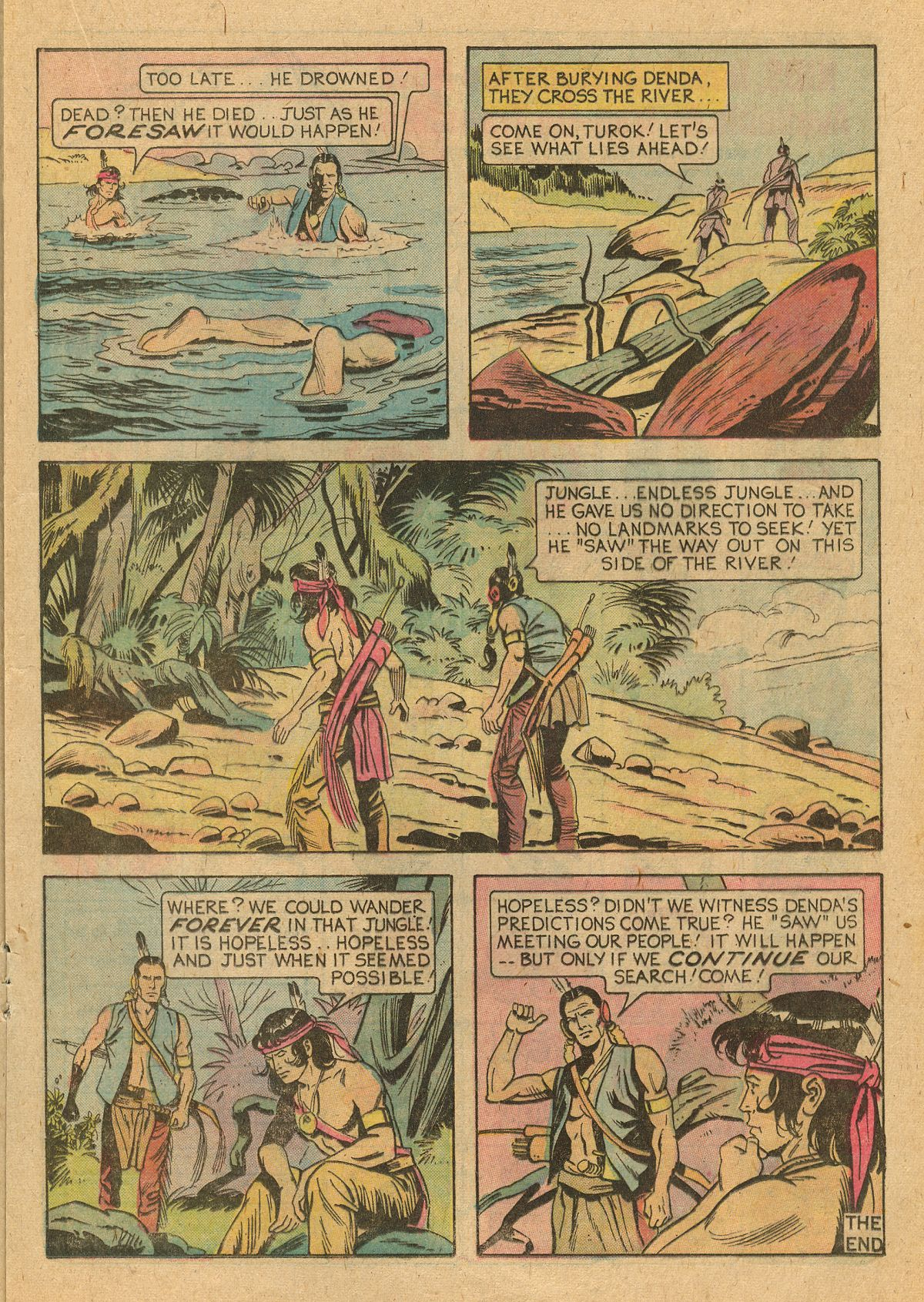 Read online Turok, Son of Stone comic -  Issue #105 - 17
