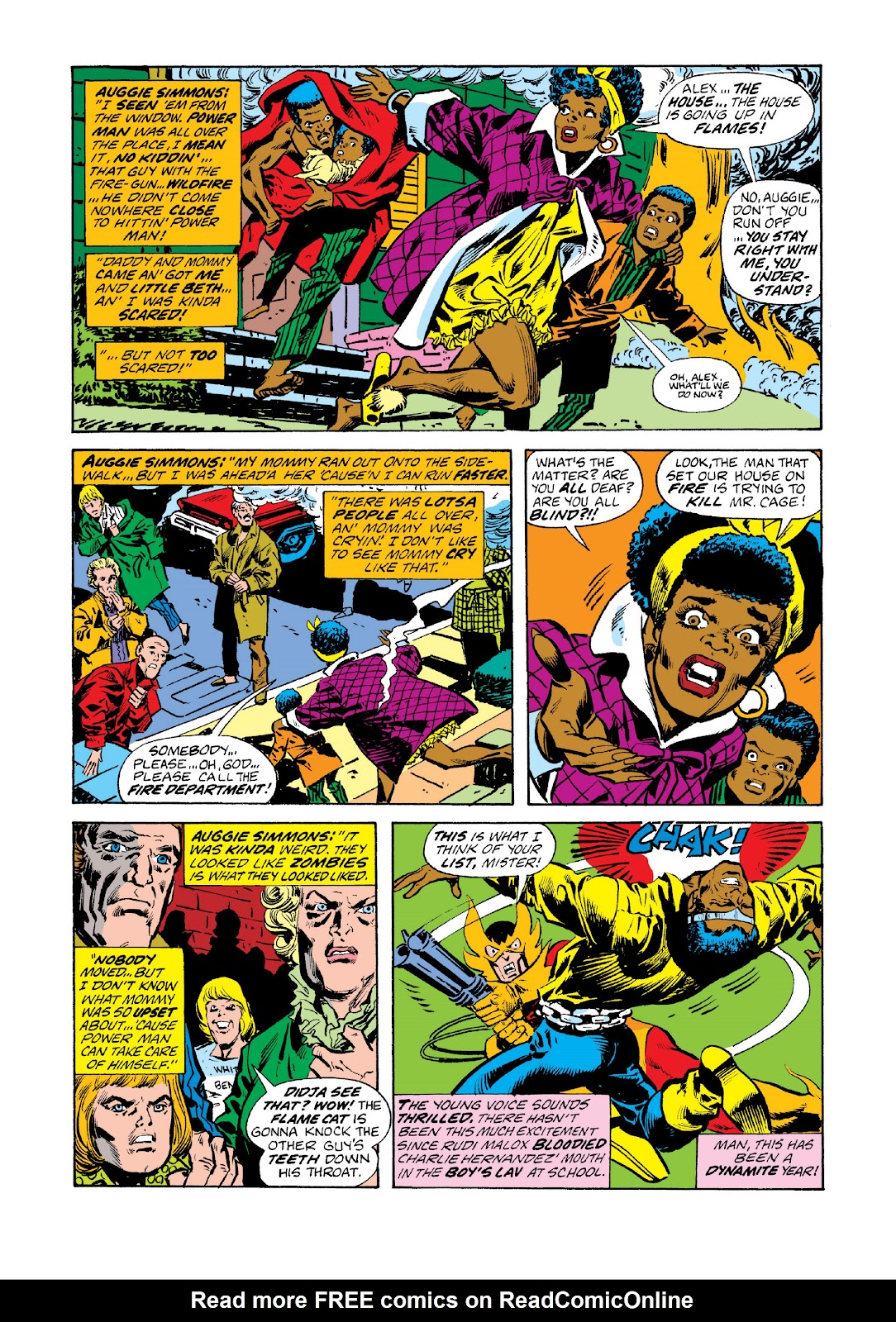 Read online Marvel Masterworks: Luke Cage, Power Man comic -  Issue # TPB 3 (Part 1) - 13