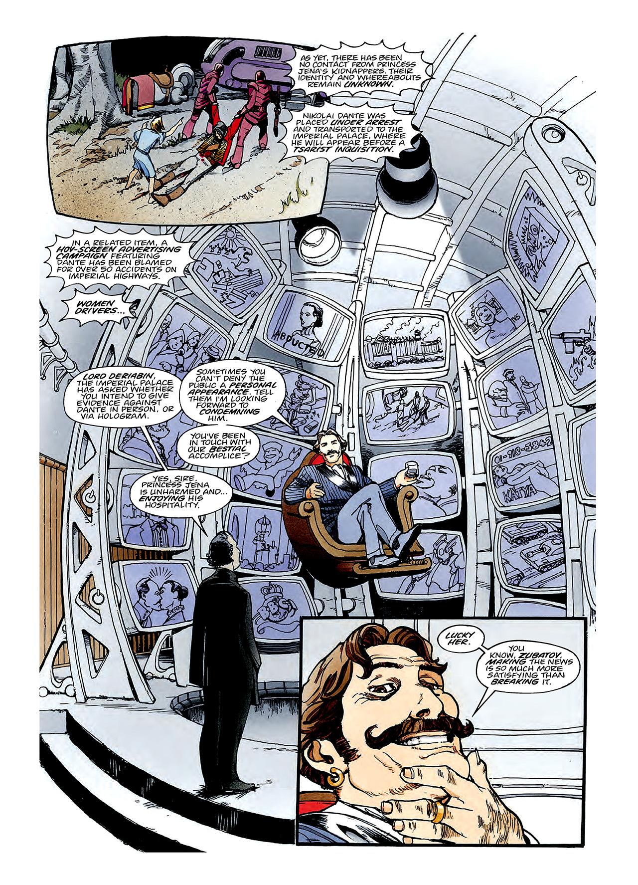 Read online Nikolai Dante comic -  Issue # TPB 3 - 82