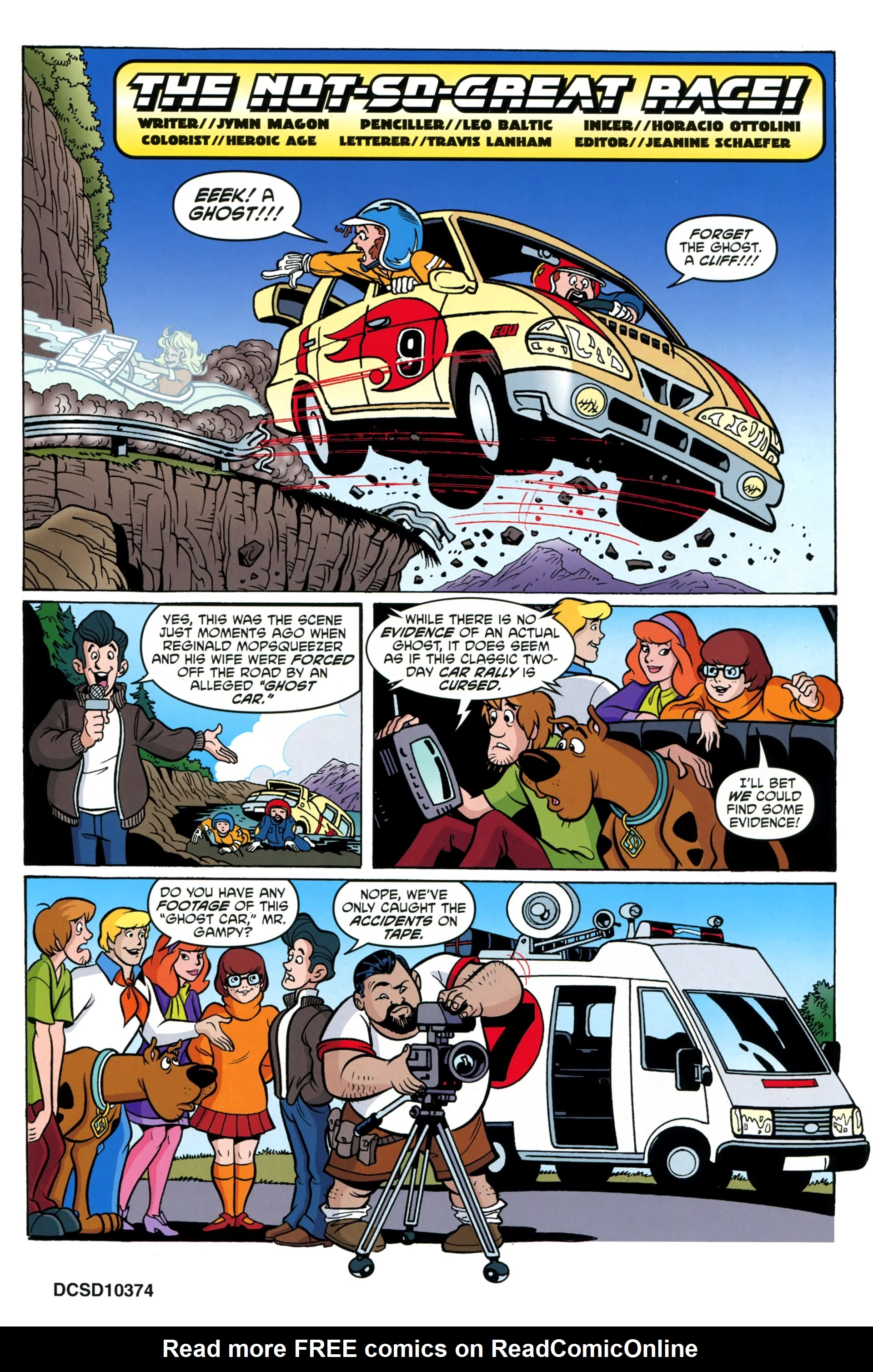 Read online Scooby-Doo: Where Are You? comic -  Issue #36 - 20