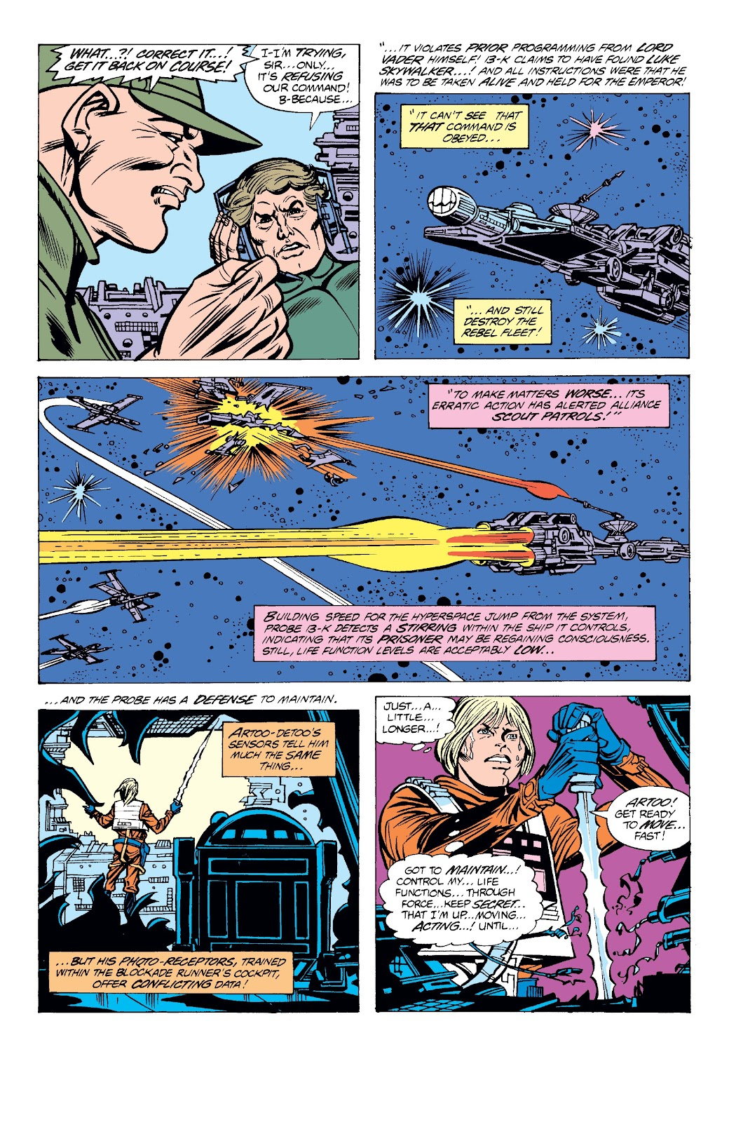 Read online Star Wars Legends: The Original Marvel Years - Epic Collection comic -  Issue # TPB 3 (Part 2) - 32