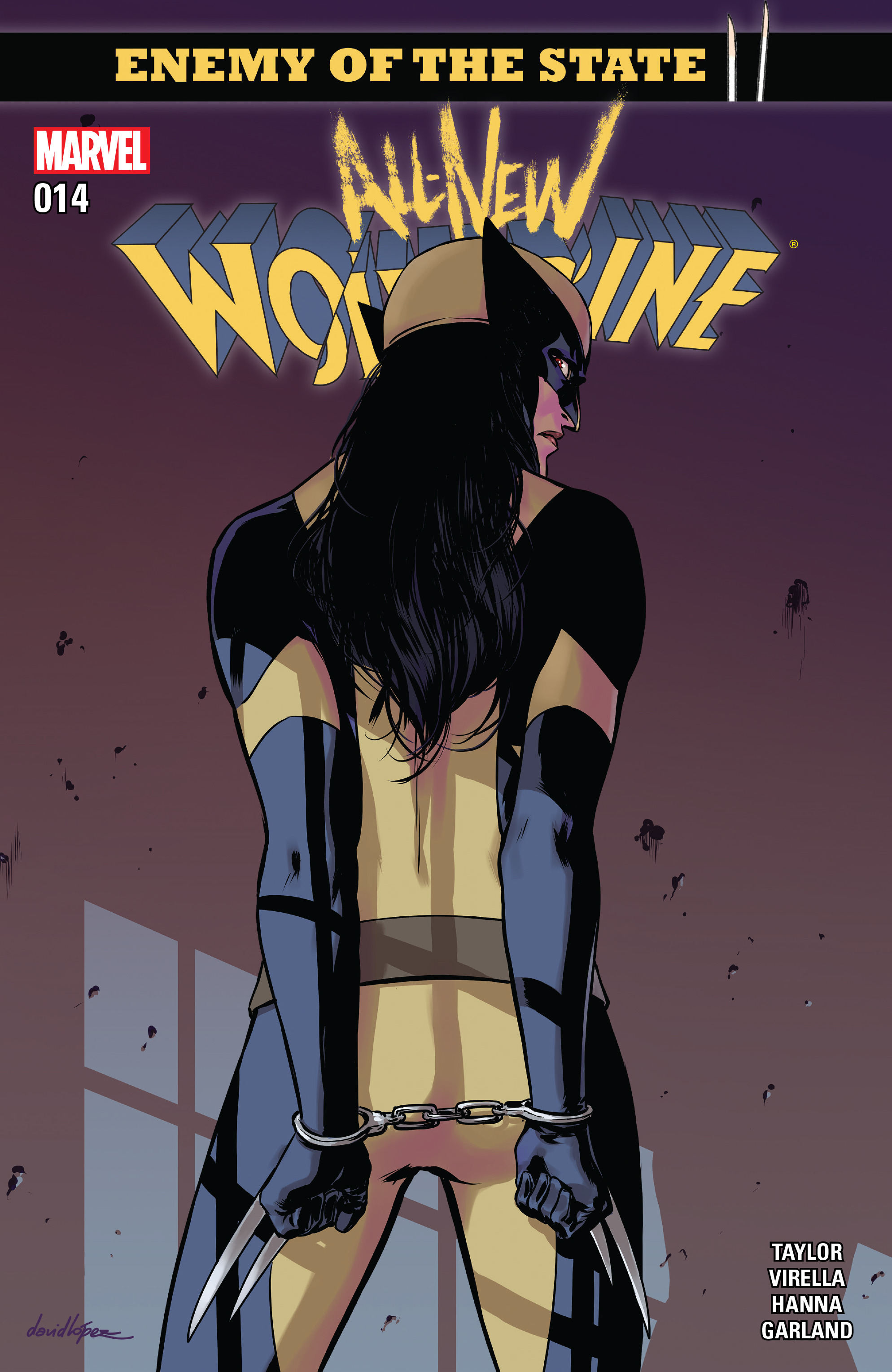 Read online All-New Wolverine (2016) comic -  Issue #14 - 1