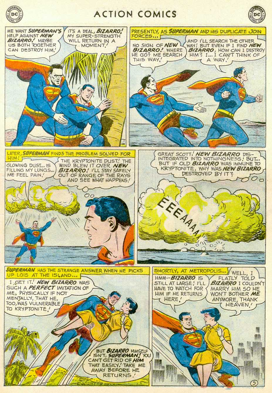 Read online Action Comics (1938) comic -  Issue #255 - 7
