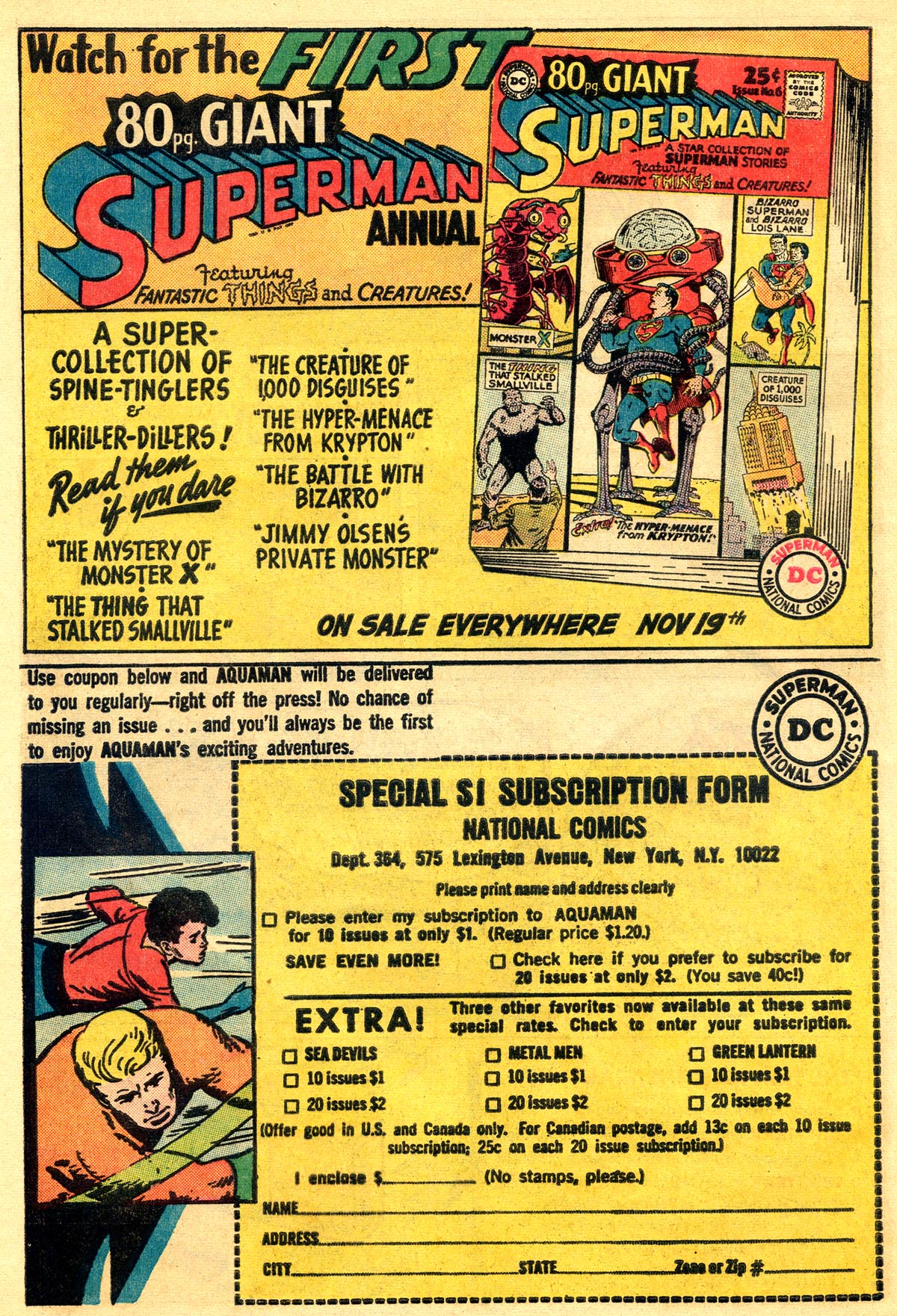 Read online Aquaman (1962) comic -  Issue #19 - 12