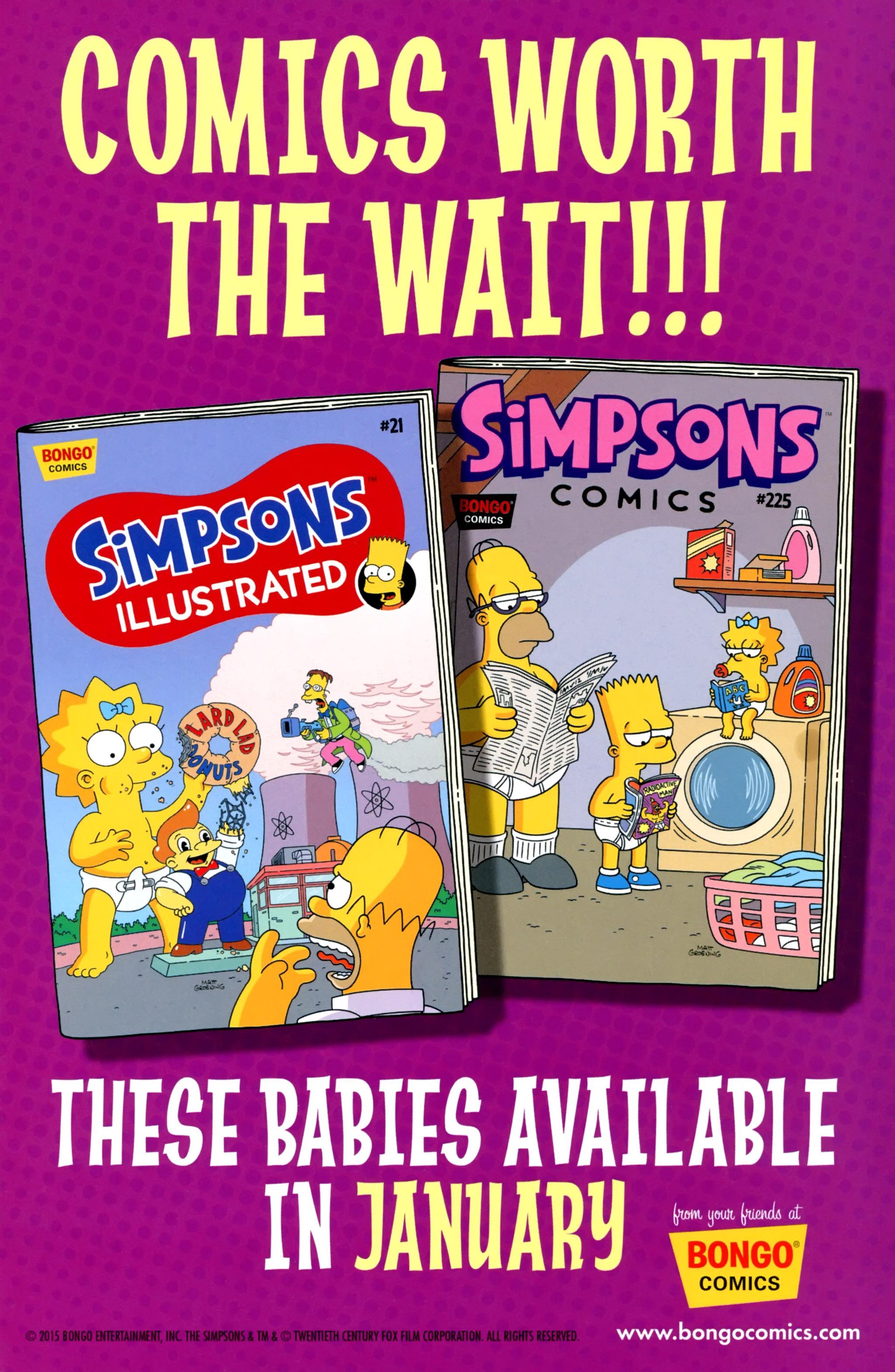 Read online Simpsons One-Shot Wonders: Grampa comic -  Issue # Full - 30