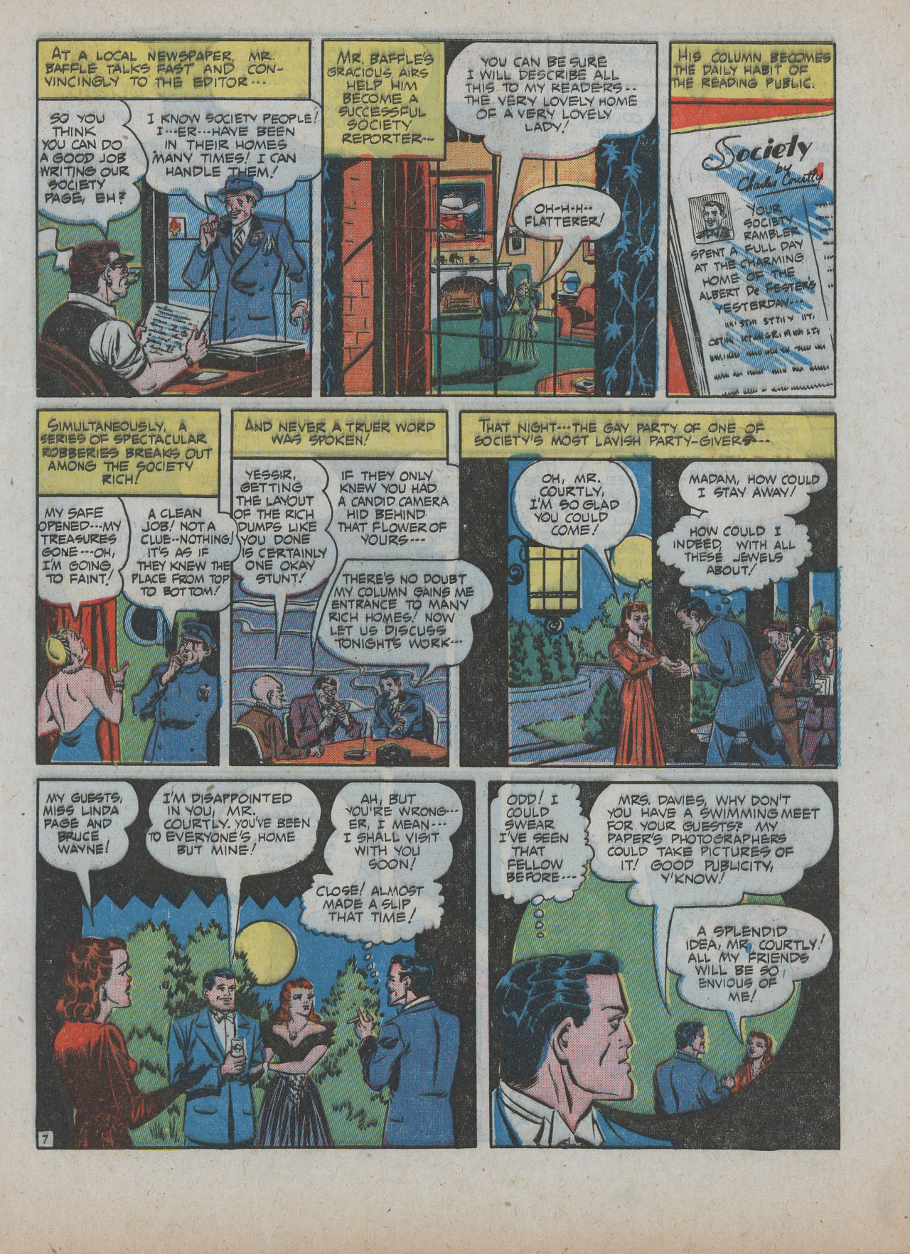 Read online Detective Comics (1937) comic -  Issue #63 - 9