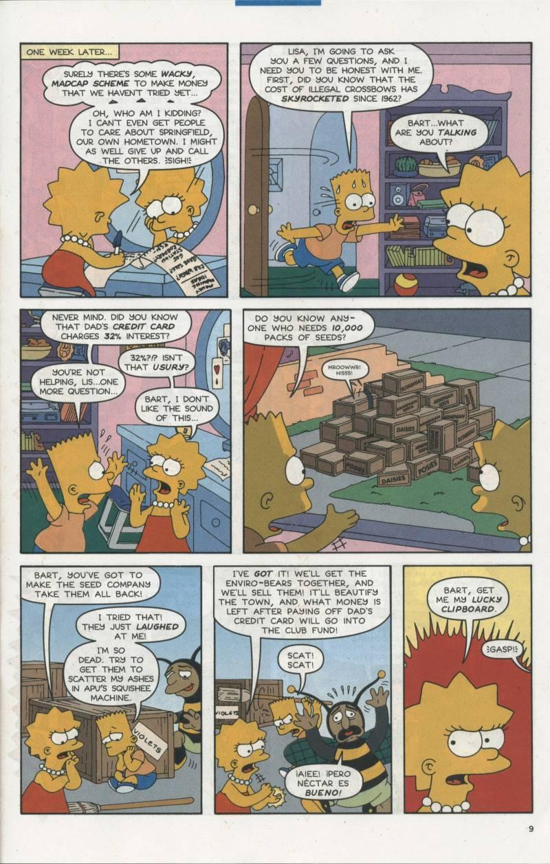 Read online Simpsons Comics comic -  Issue #67 - 10
