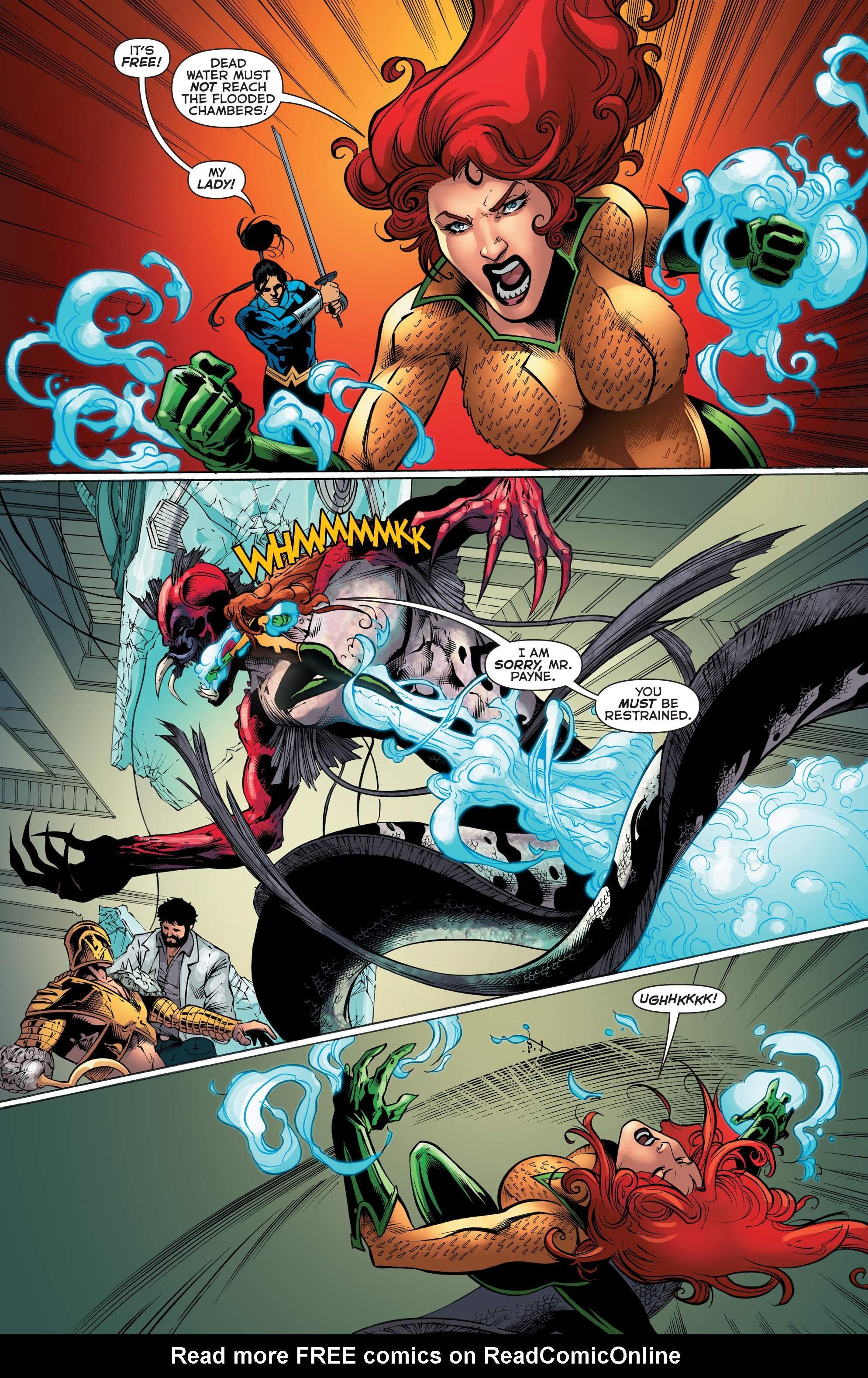 Read online Aquaman (2011) comic -  Issue #51 - 22