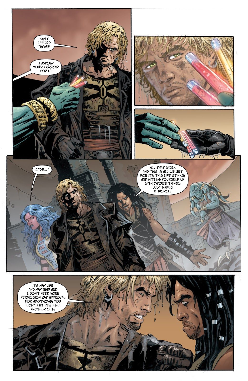 Read online Star Wars Legends: Legacy - Epic Collection comic -  Issue # TPB 1 (Part 1) - 59