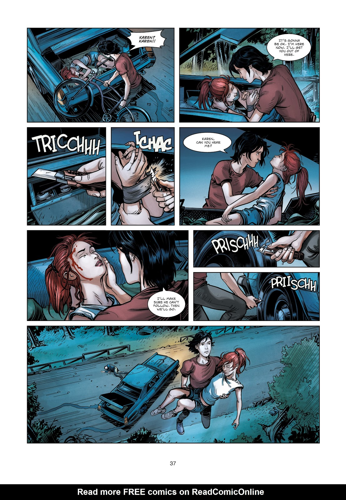 Read online Vigilantes comic -  Issue #3 - 37