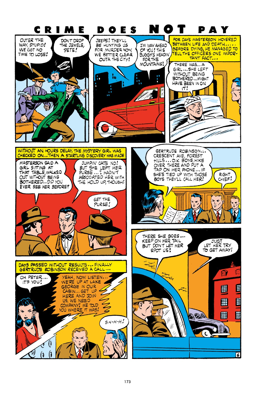 Read online Crime Does Not Pay Archives comic -  Issue # TPB 3 (Part 2) - 73