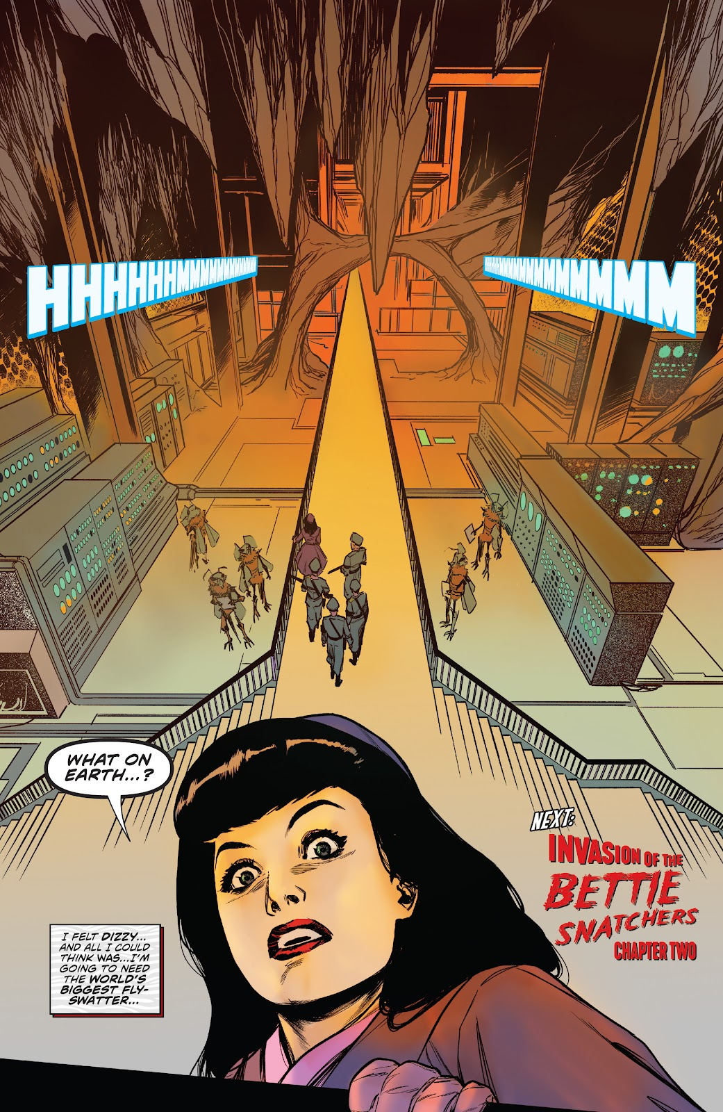 Read online Bettie Page: Unbound comic -  Issue #6 - 26
