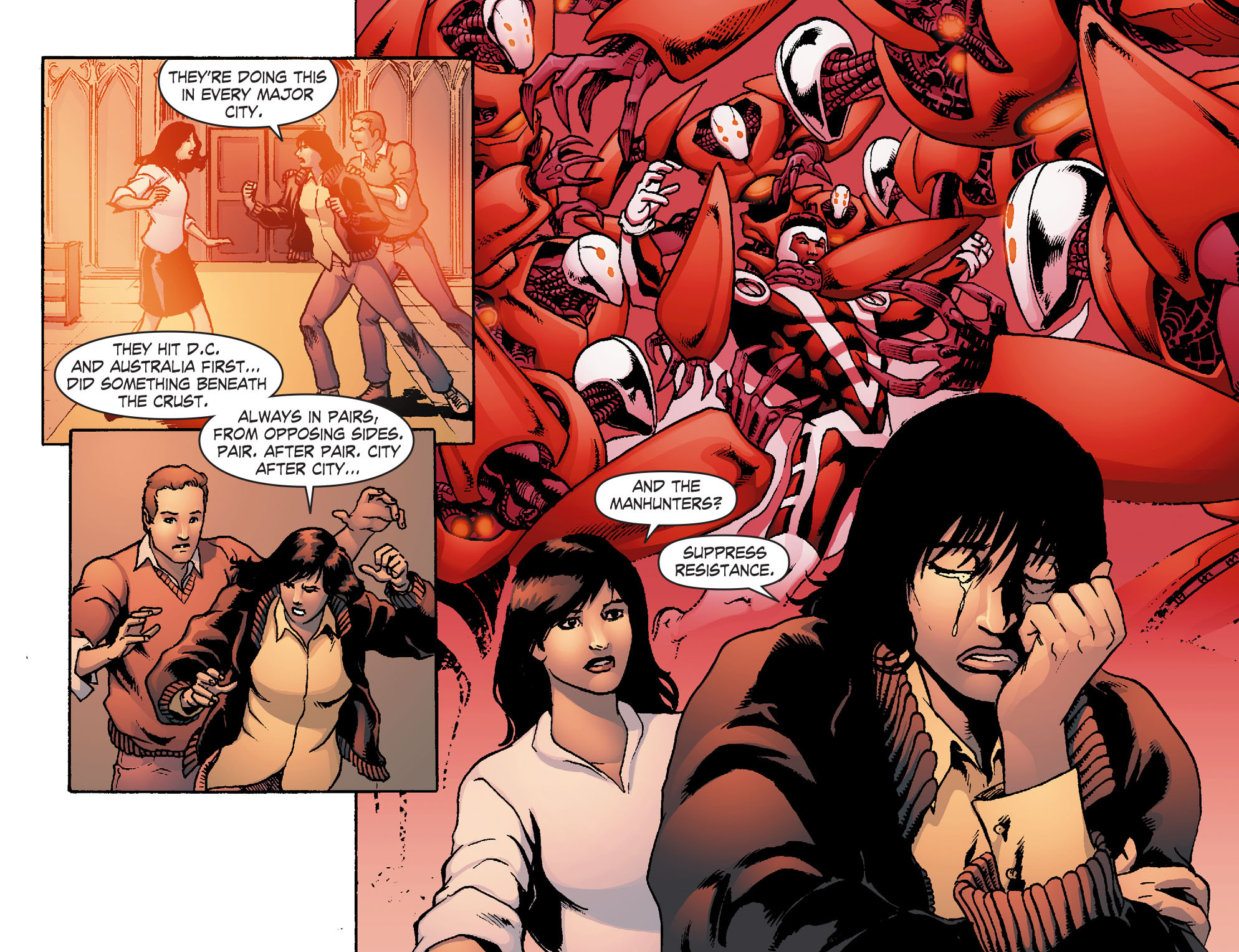 Read online Smallville: Chaos [II] comic -  Issue #4 - 9