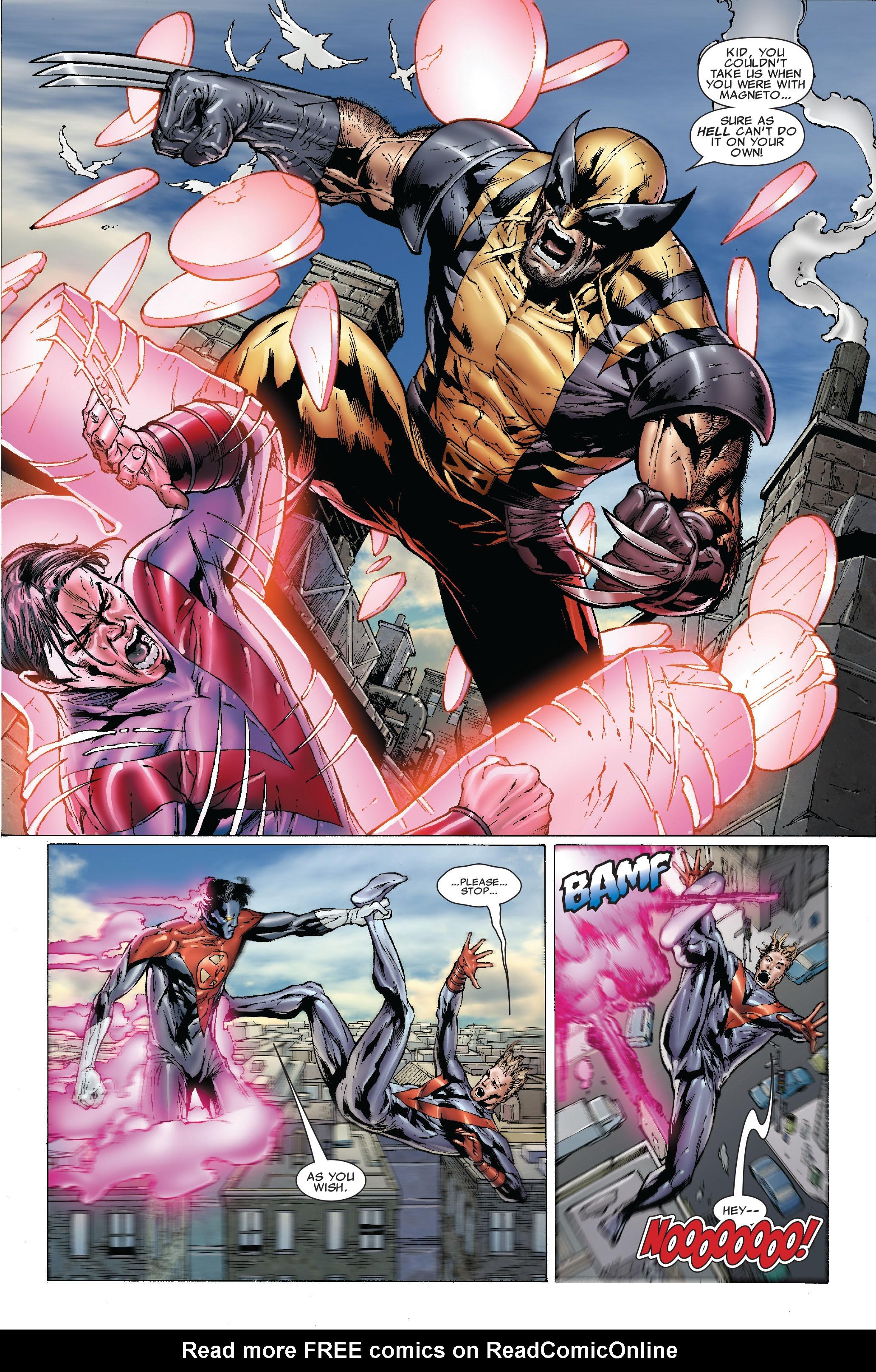 Read online Uncanny X-Men (1963) comic -  Issue #492 - 19