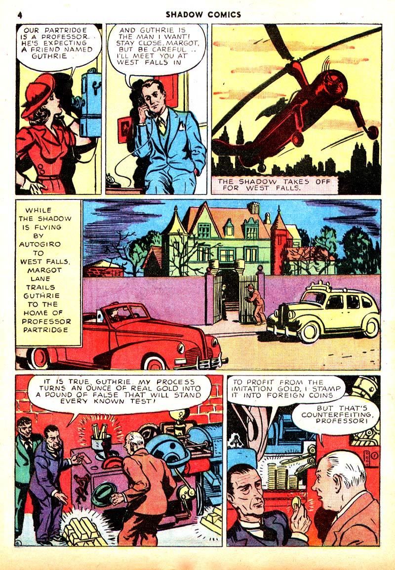 Read online Shadow Comics comic -  Issue #7 - 5