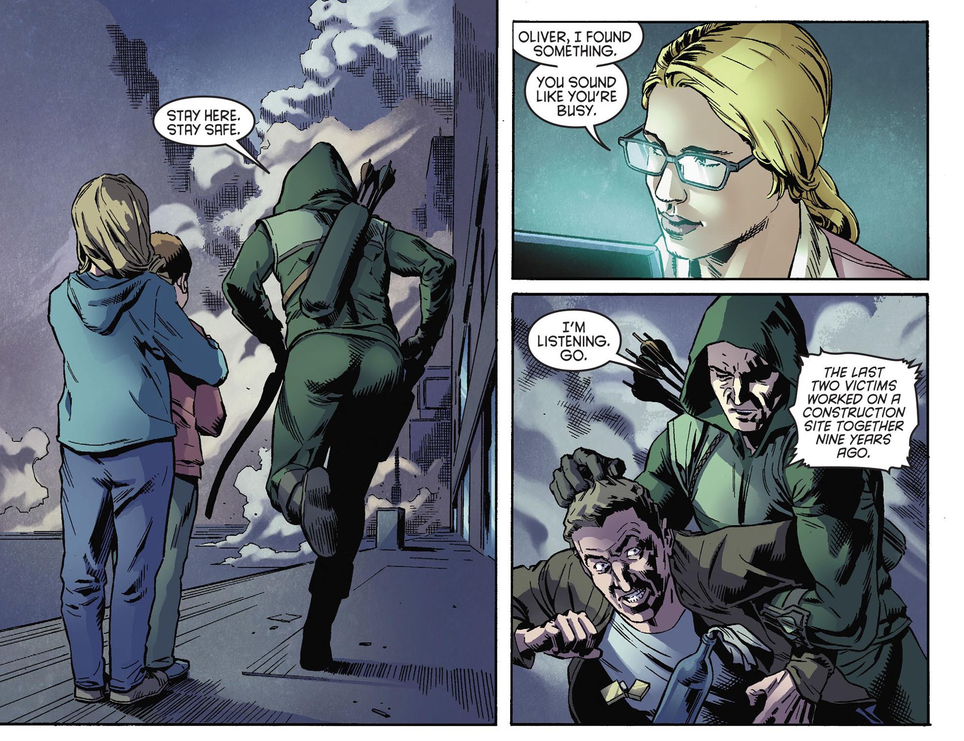 Read online Arrow [II] comic -  Issue #30 - 15