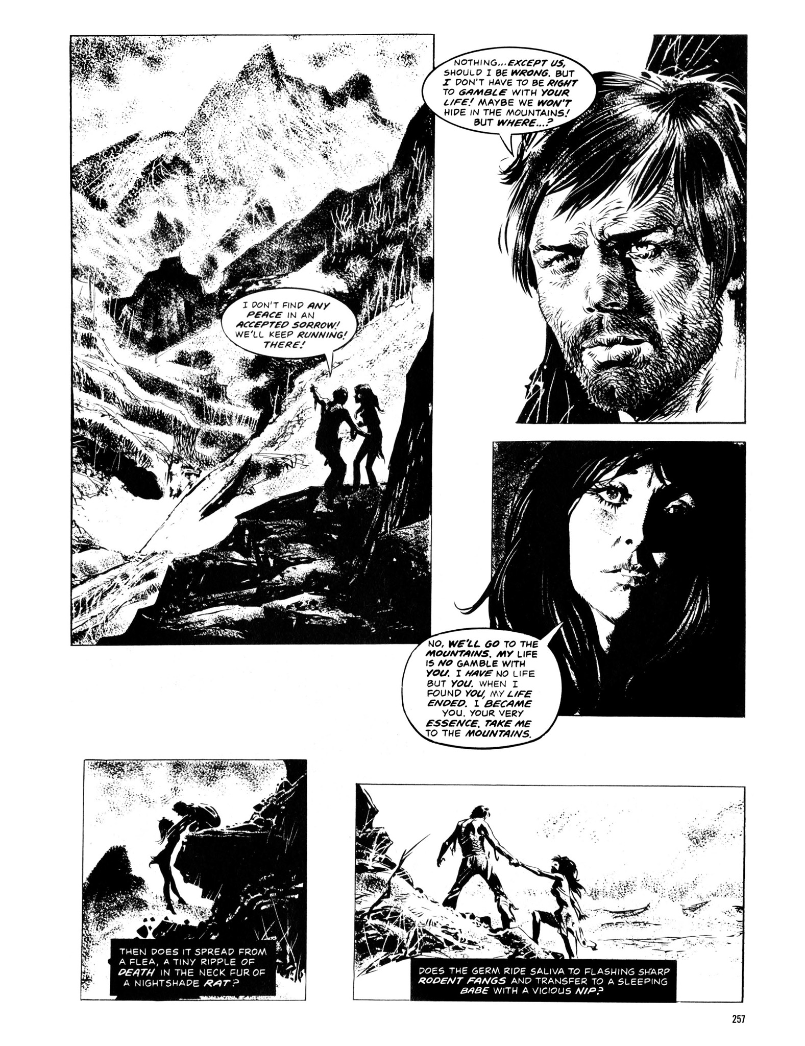 Read online Eerie Archives comic -  Issue # TPB 13 - 258