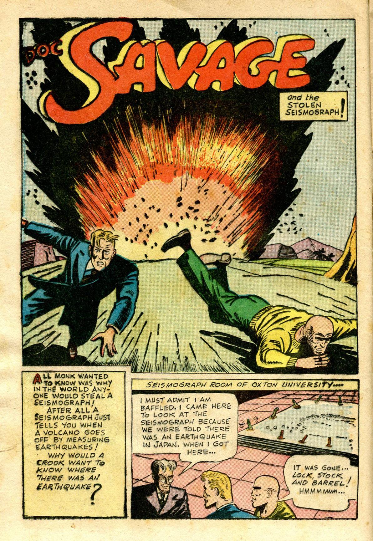 Read online Shadow Comics comic -  Issue #65 - 20
