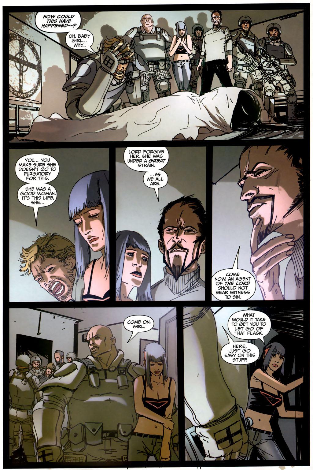 Read online Strange Girl comic -  Issue #6 - 12