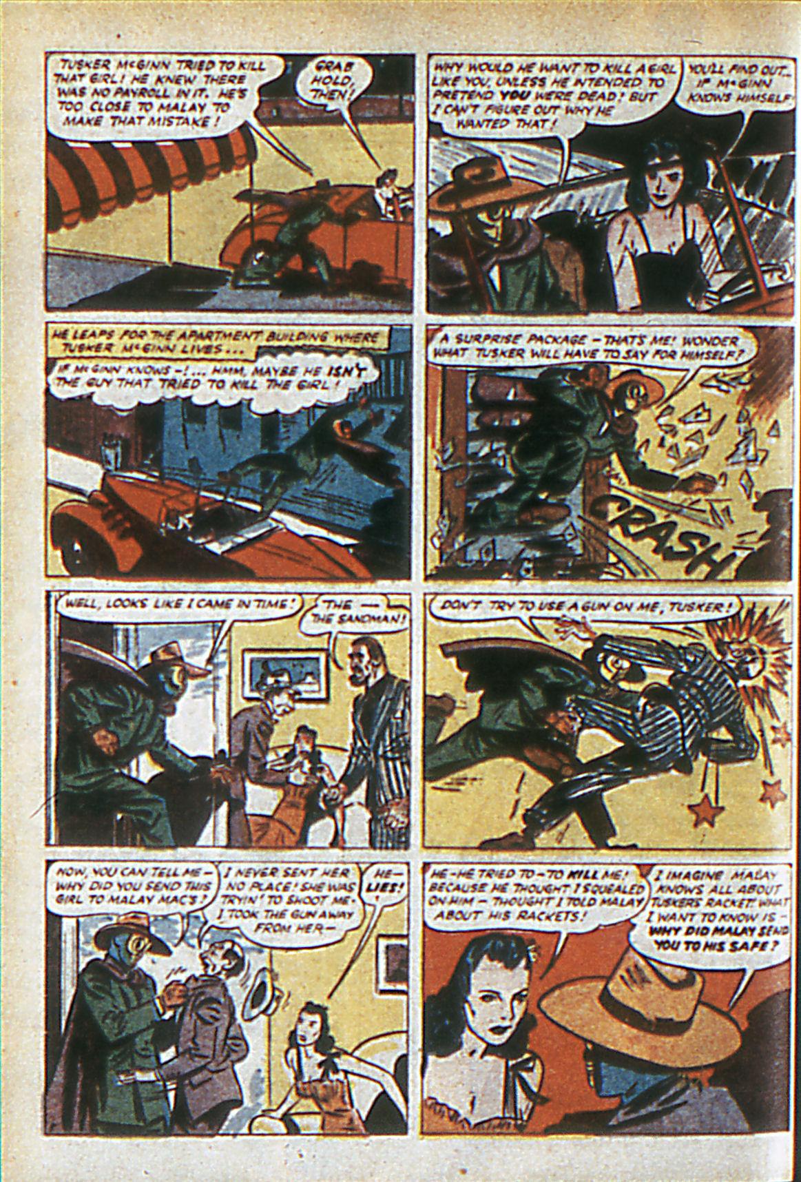 Read online Adventure Comics (1938) comic -  Issue #60 - 61