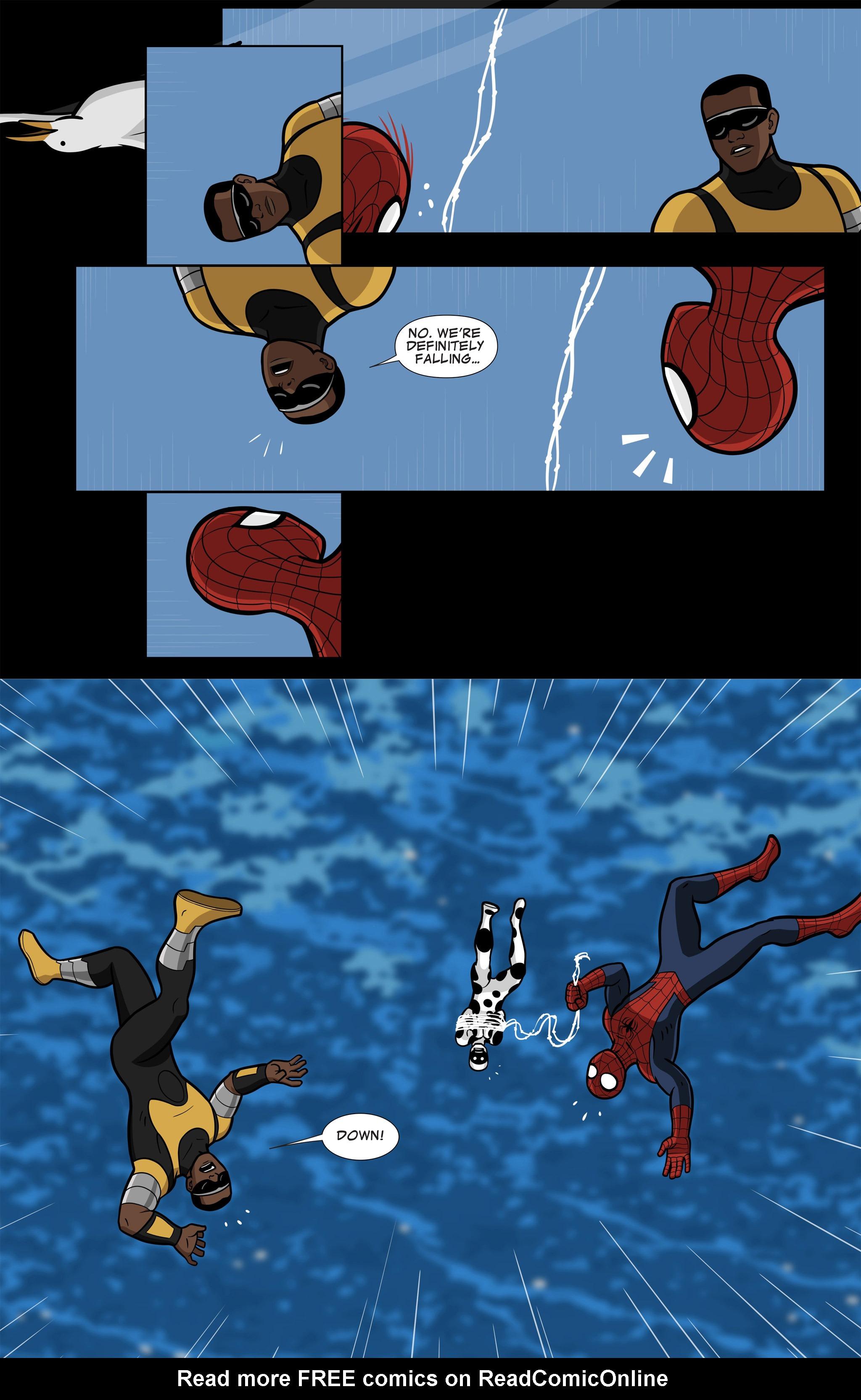 Read online Ultimate Spider-Man (Infinite Comics) (2015) comic -  Issue #11 - 15