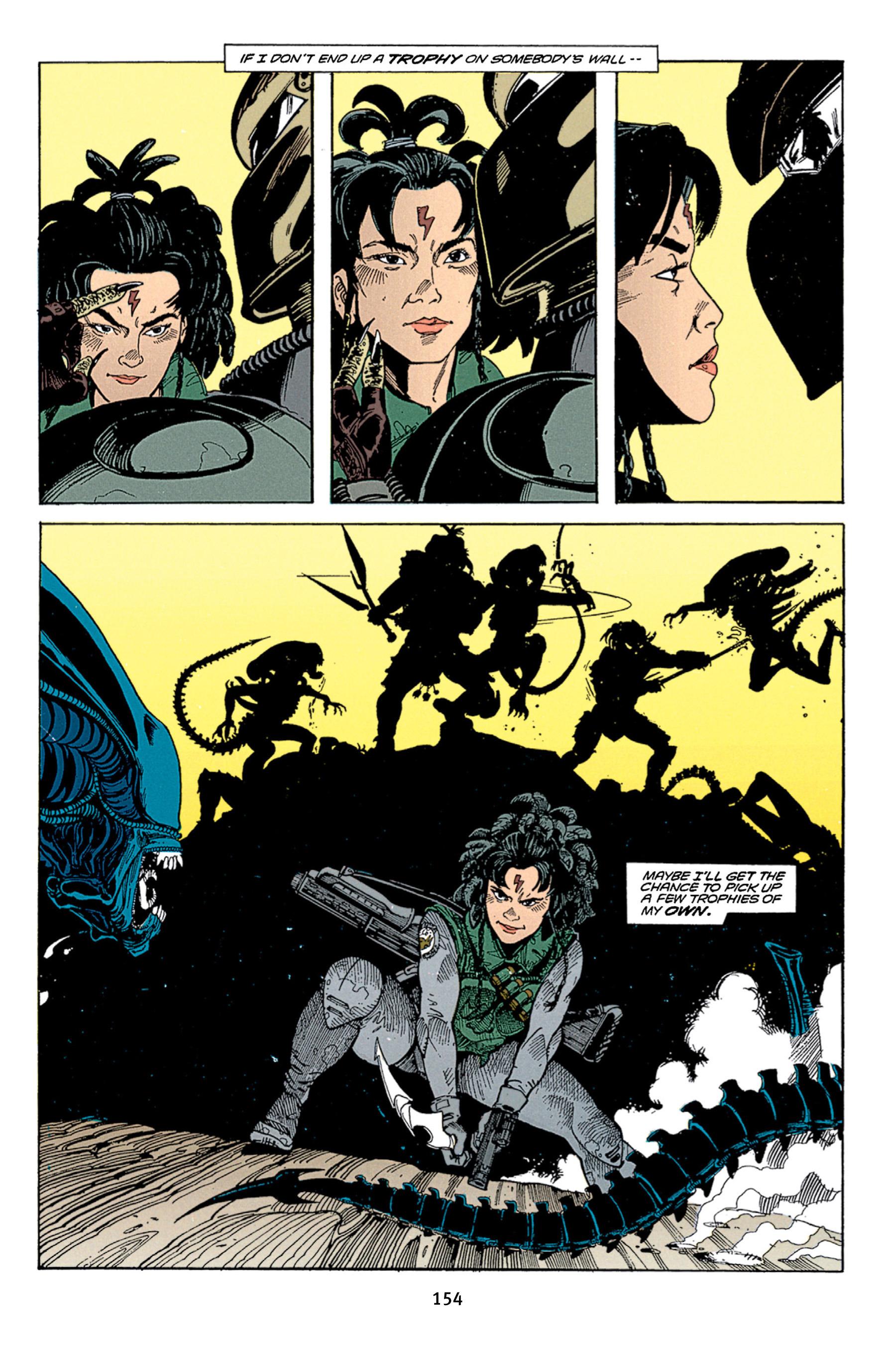Read online Aliens vs. Predator Omnibus comic -  Issue # _TPB 1 Part 2 - 53