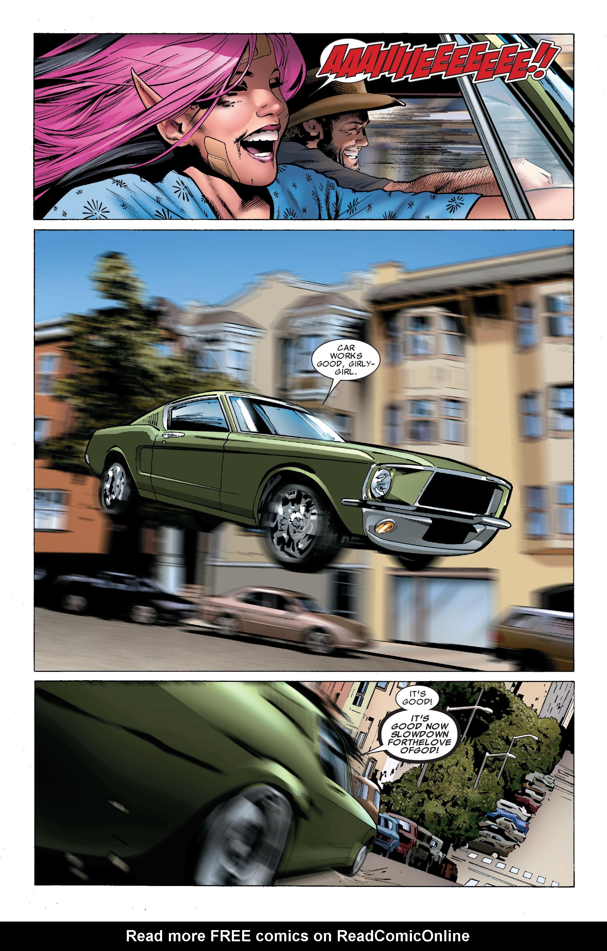 Read online Uncanny X-Men (1963) comic -  Issue #502 - 13