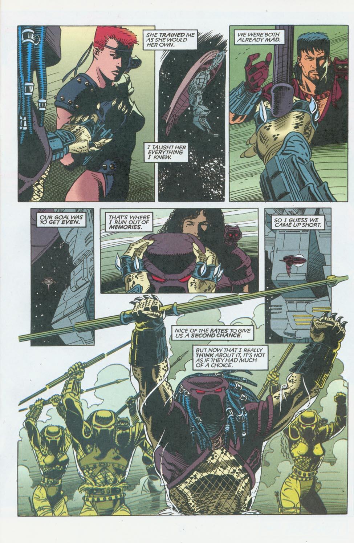 Read online Aliens/Predator: The Deadliest of the Species comic -  Issue #10 - 23