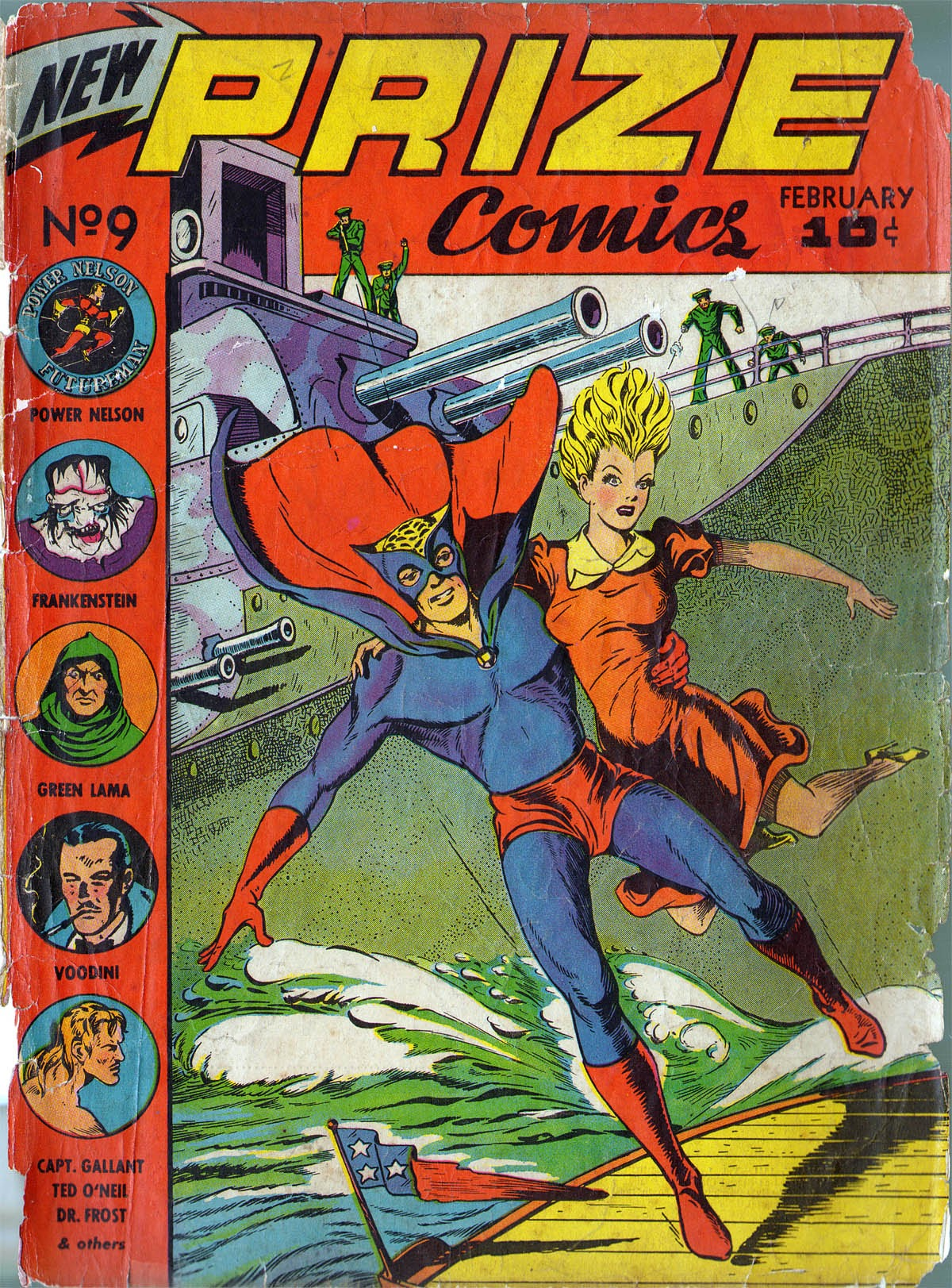 Prize Comics 9 Page 1