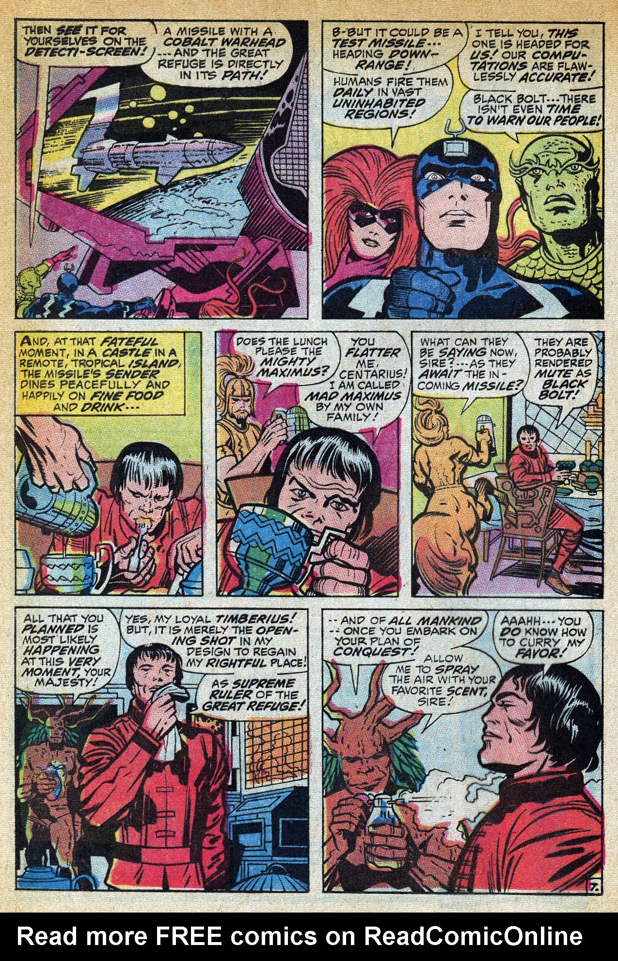 Read online Amazing Adventures (1970) comic -  Issue #1 - 12