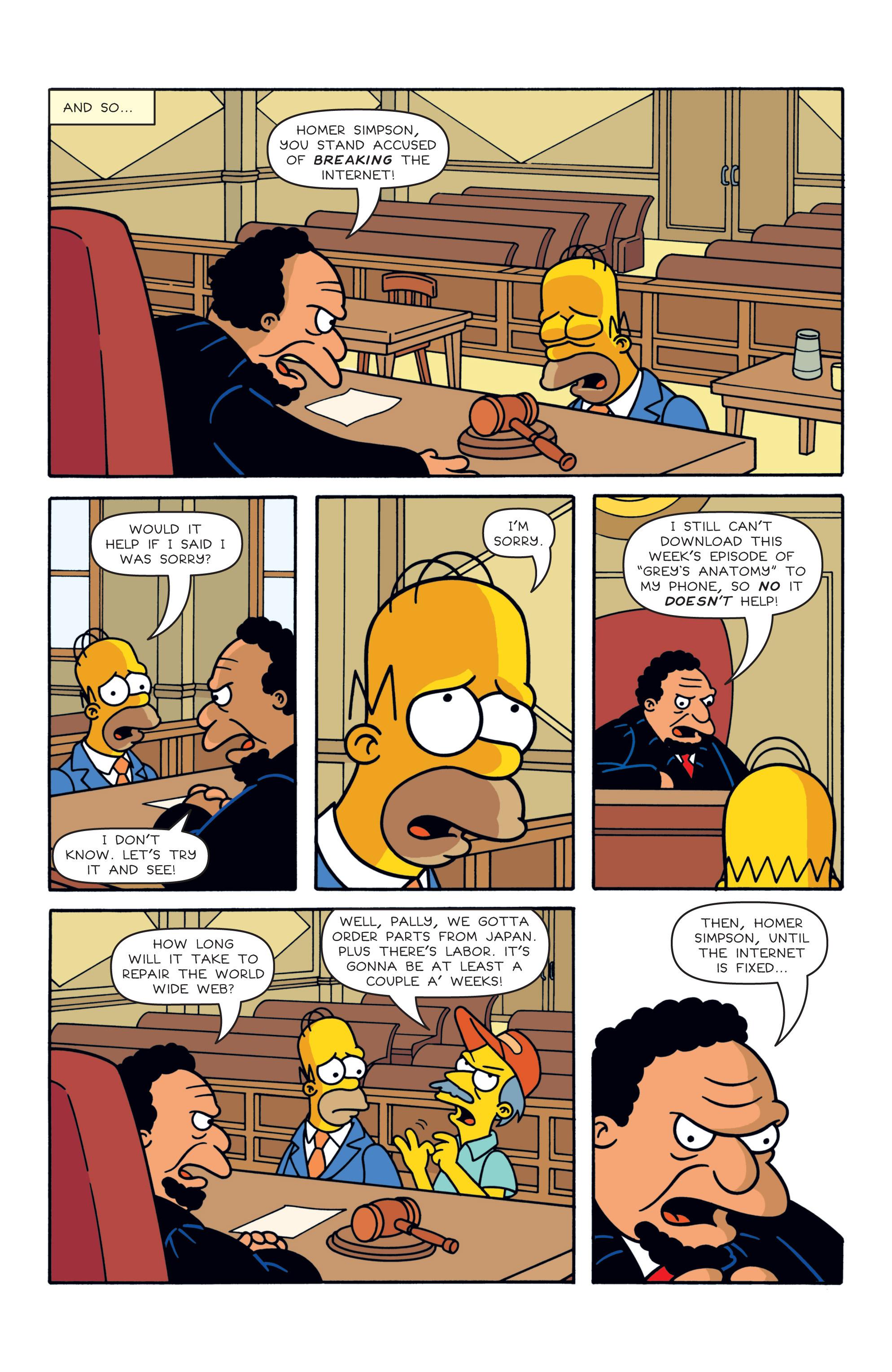 Read online Simpsons Comics comic -  Issue #187 - 7