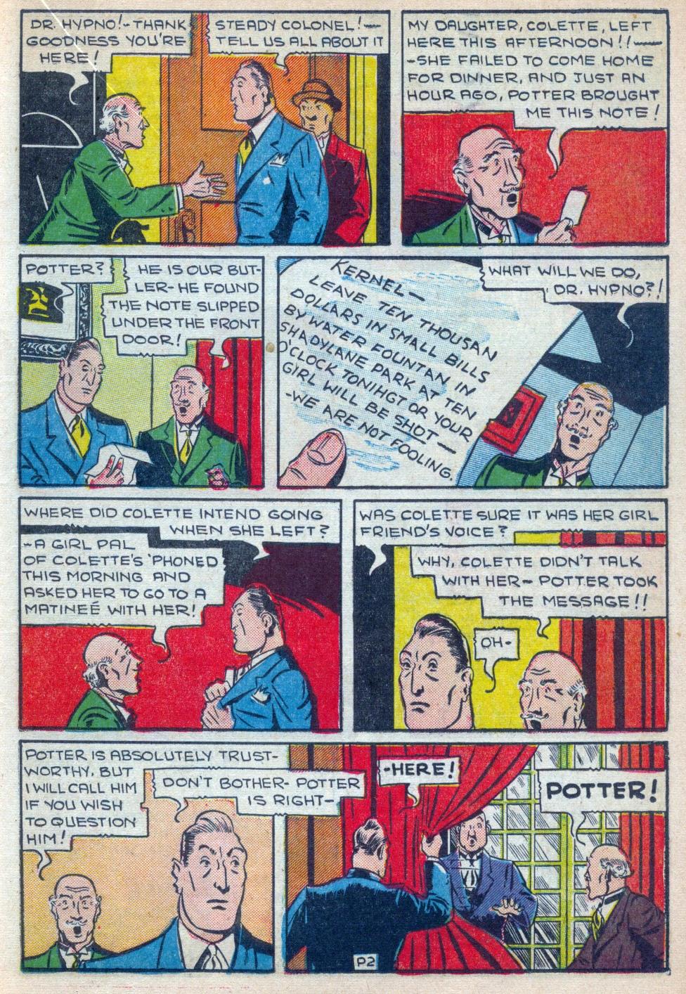 Read online Amazing Man Comics comic -  Issue #15 - 28