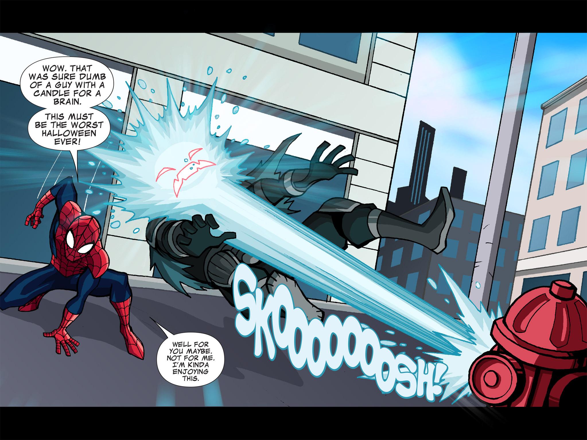 Read online Ultimate Spider-Man (Infinite Comics) (2015) comic -  Issue #1 - 15