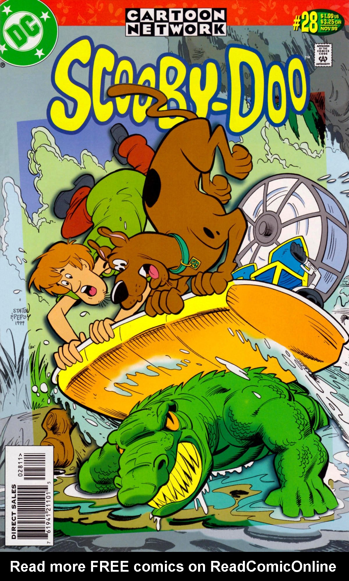 Read online Scooby-Doo (1997) comic -  Issue #28 - 1