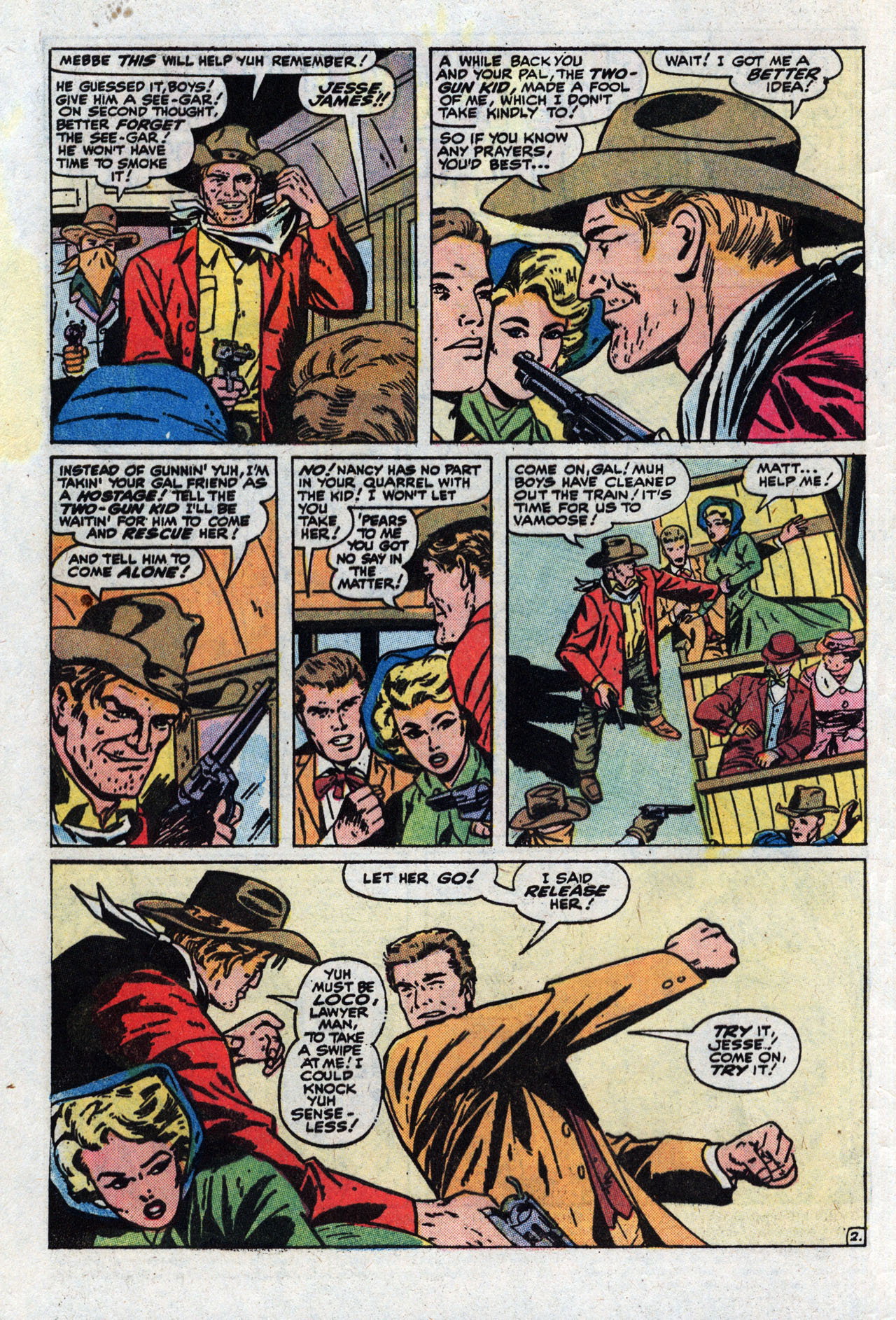 Read online Two-Gun Kid comic -  Issue #111 - 4