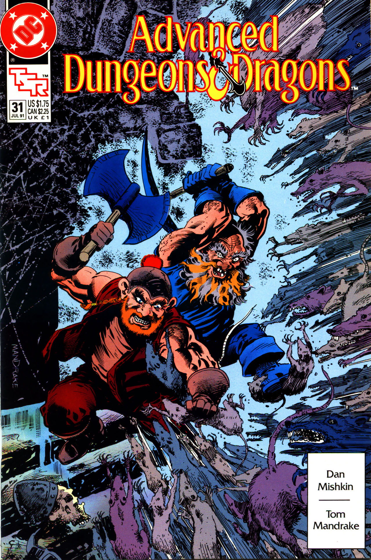 Read online Advanced Dungeons & Dragons comic -  Issue #31 - 1
