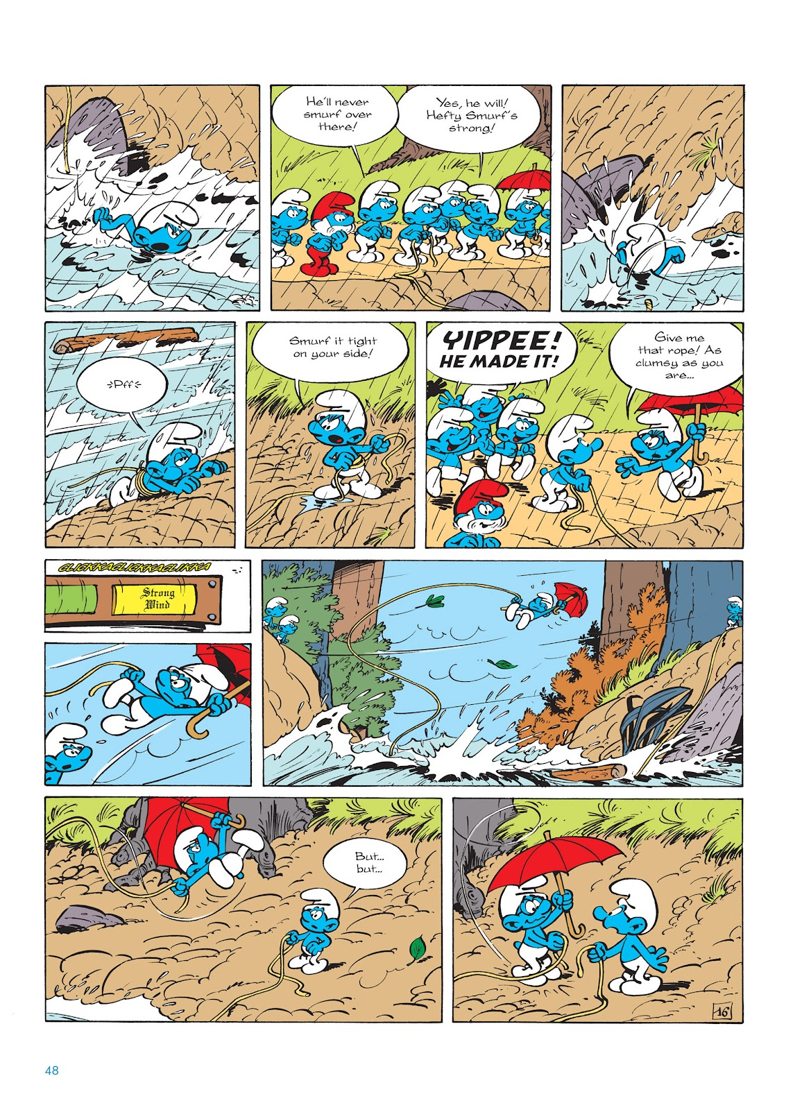 Read online The Smurfs comic -  Issue #14 - 49