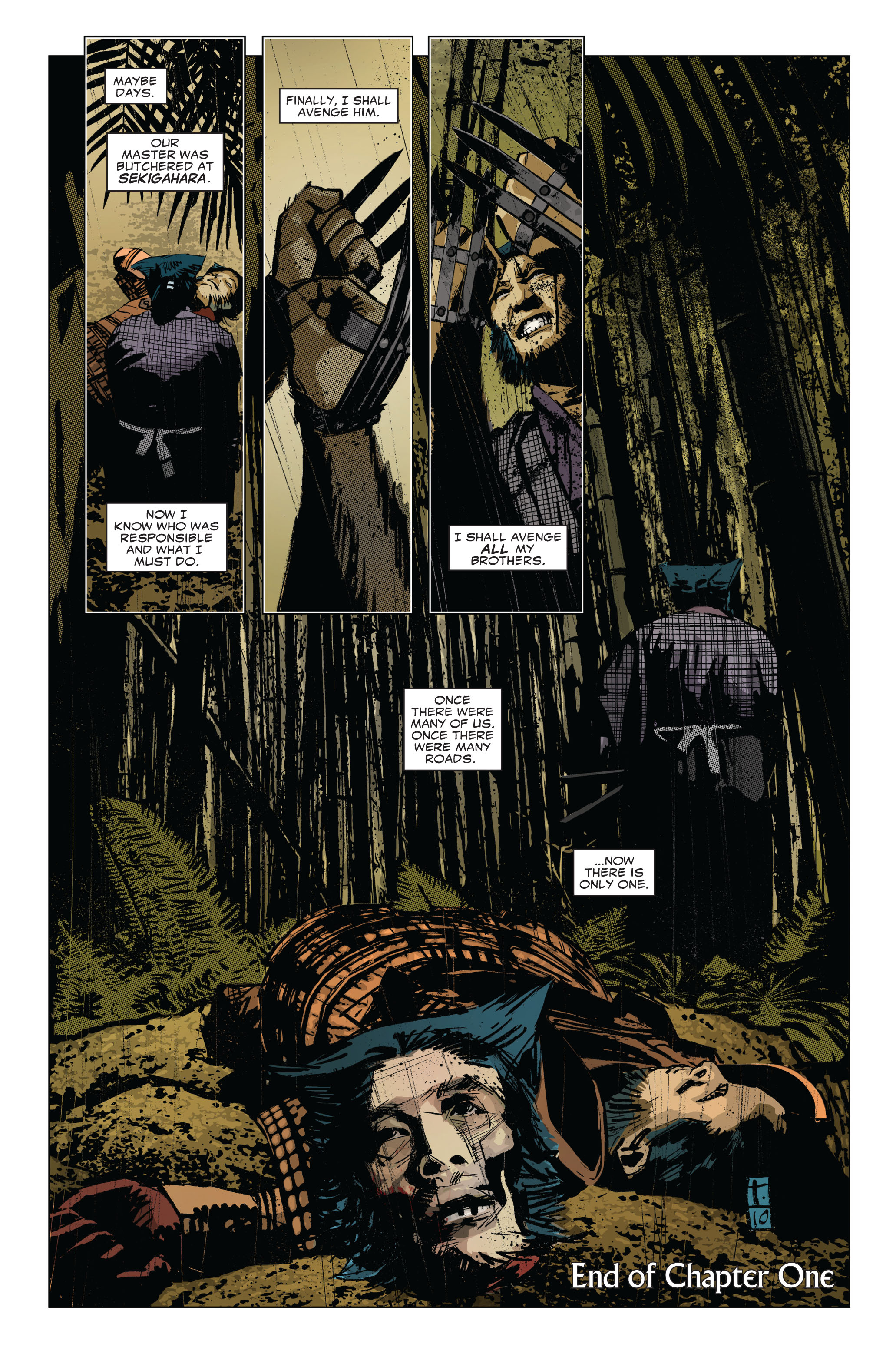 Read online 5 Ronin (2011) comic -  Issue #1 - 23