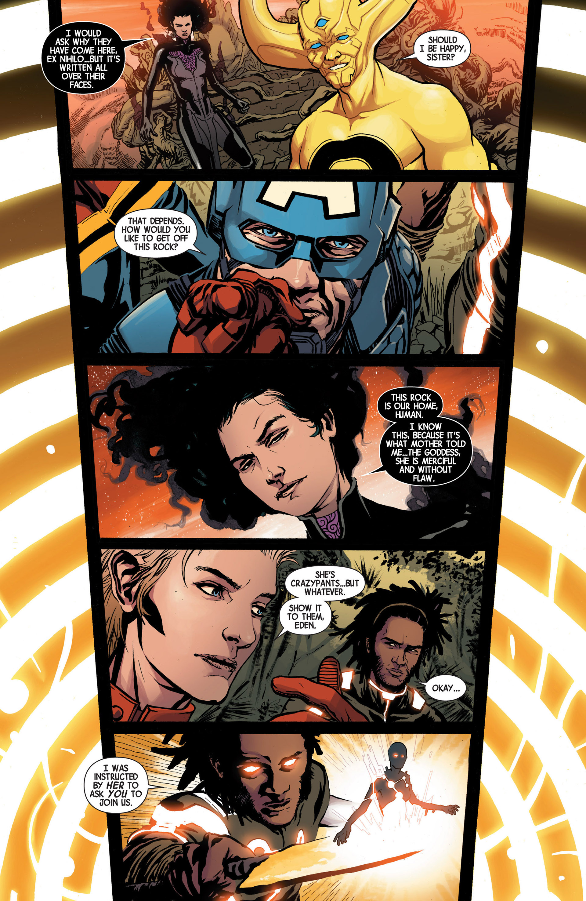 Read online Avengers (2013) comic -  Issue #17 - 19